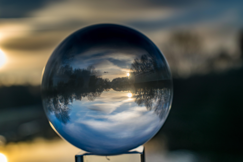 Gambar Pemandangan Alam Cahaya Malam Sinar Matahari