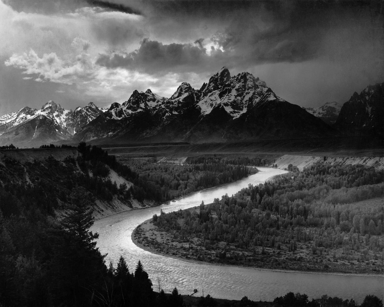 красивые черно белые пейзажи картинки его там, где