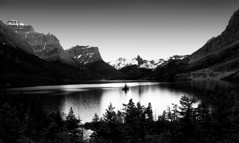 images gratuites paysage la nature montagne nuage noir et blanc la photographie lac. Black Bedroom Furniture Sets. Home Design Ideas