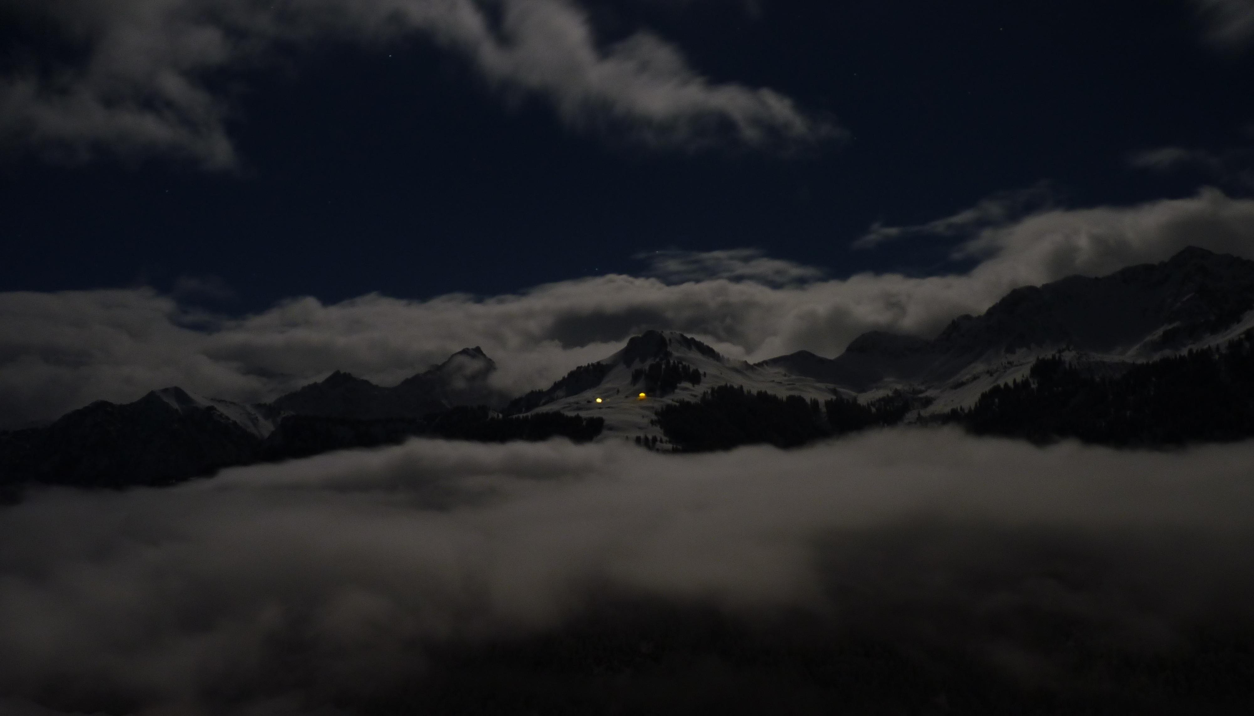 мрачные ночные горы картинки обещают мэрии, качество