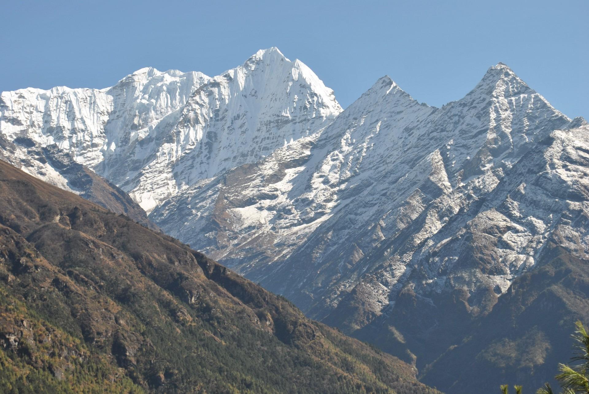Gambar Pemandangan Outdoor Gurun Salju Petualangan Lembah
