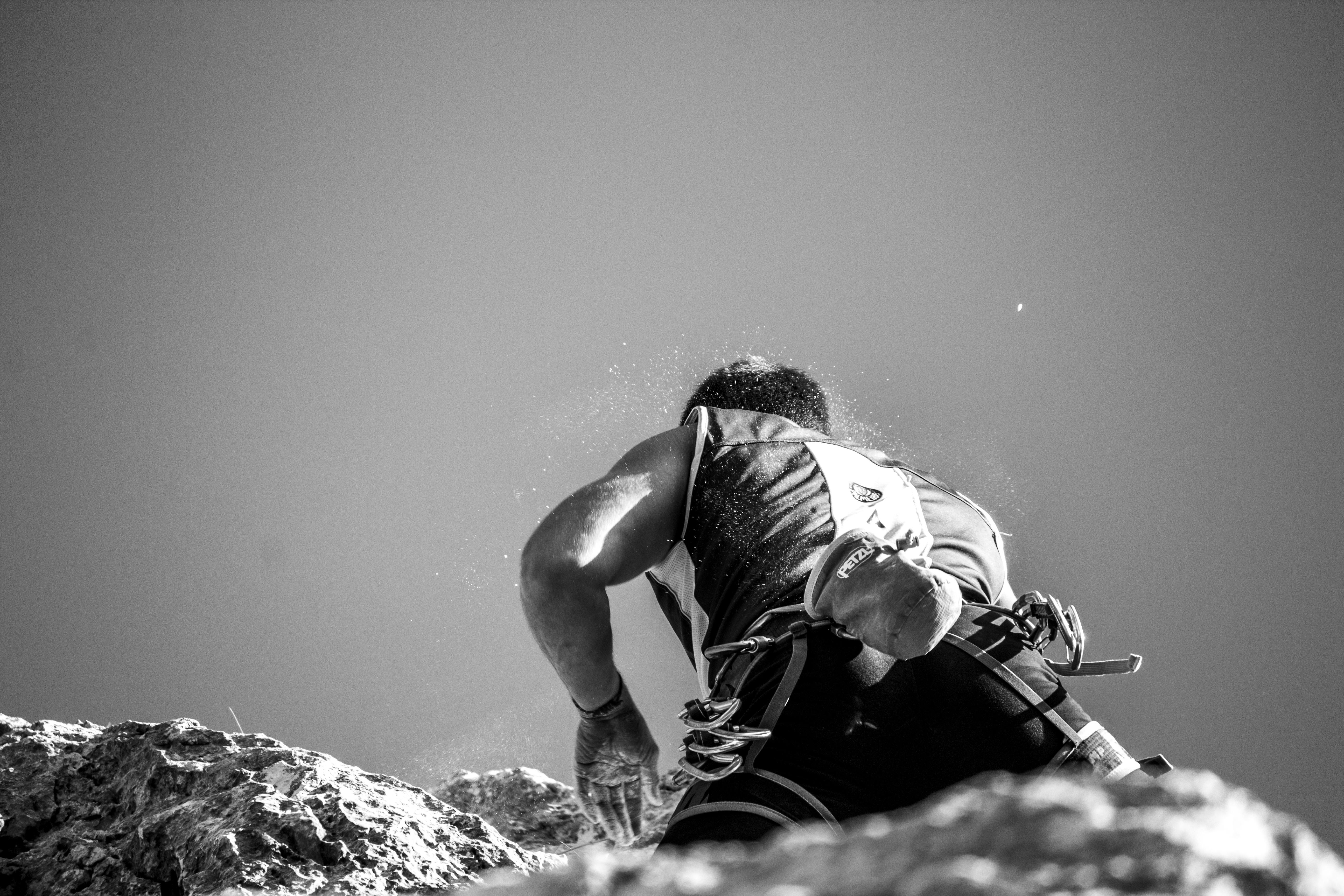 Kostenlose foto : Landschaft, Natur, Rock, Berg, Seil, Schwarz und ...