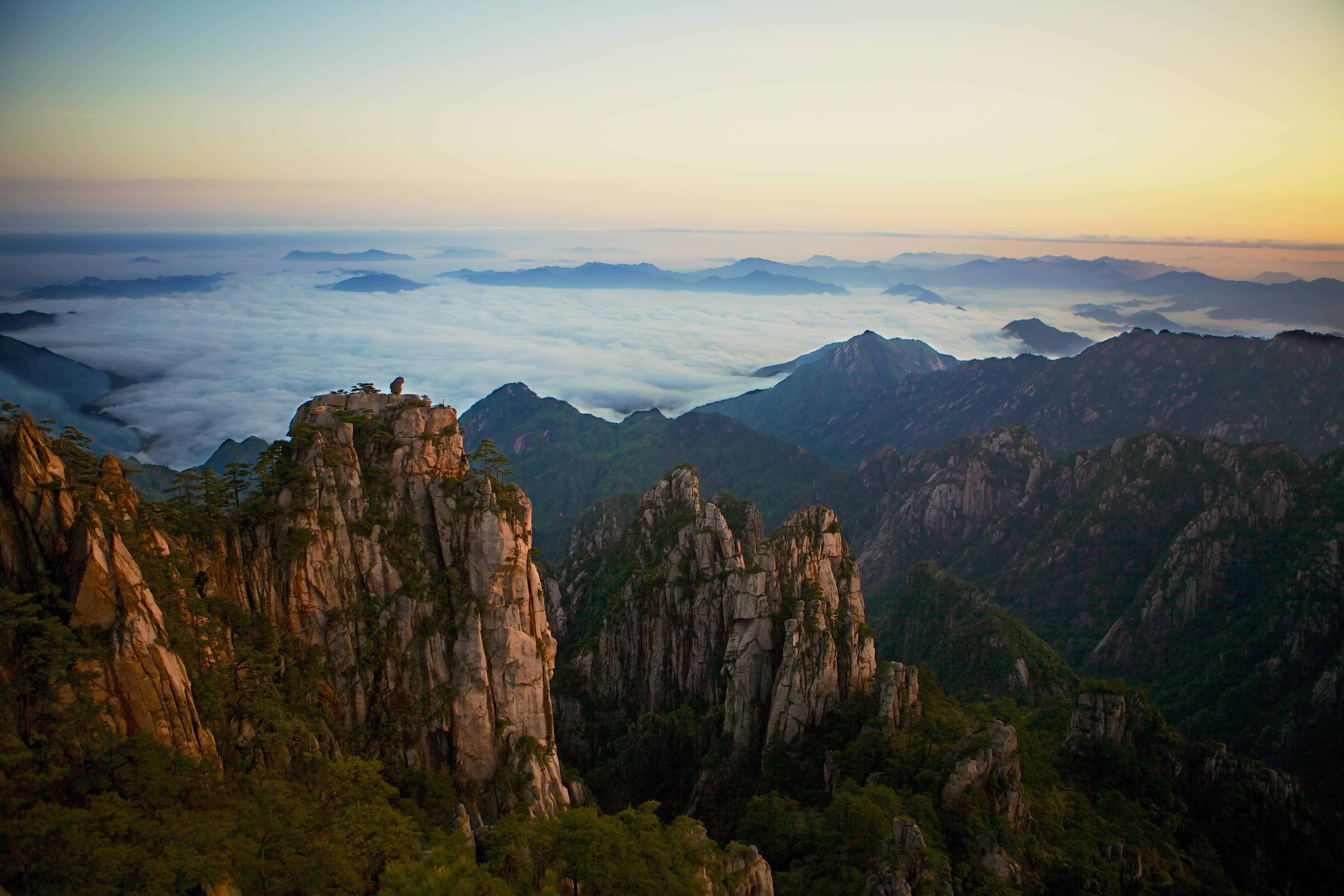 Remarkable, asian mountain range