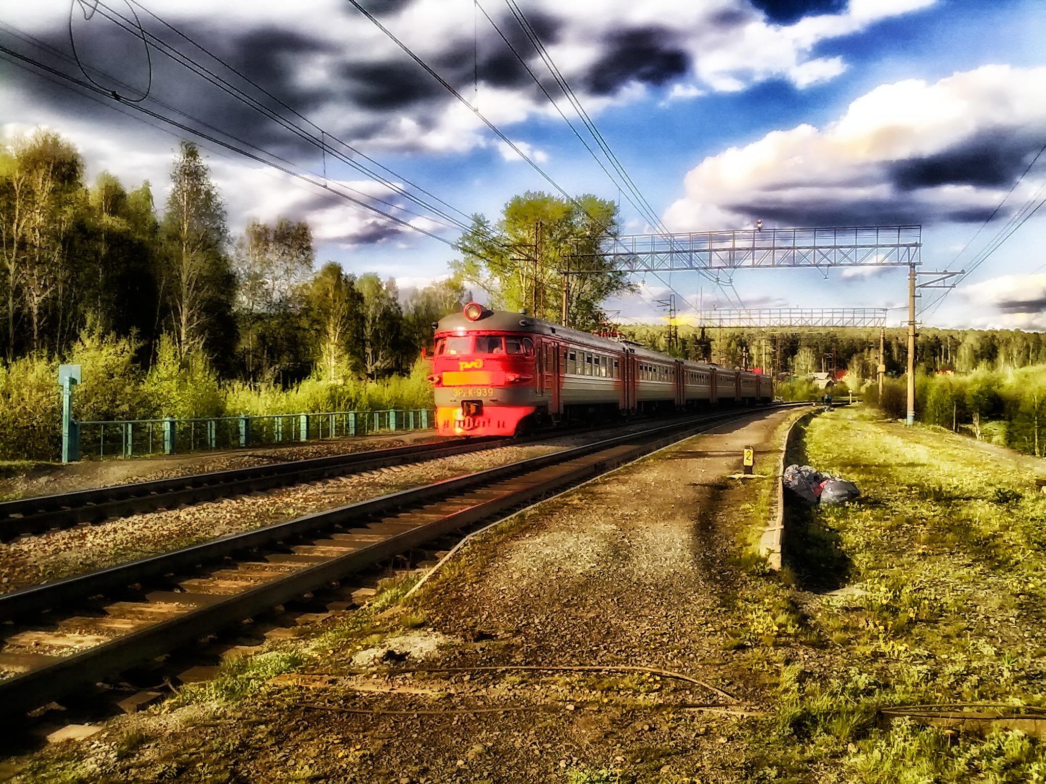 его железная дорога поезда фото наш семейный