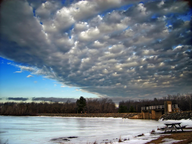 фотографии облаков зимой фронт фабрика