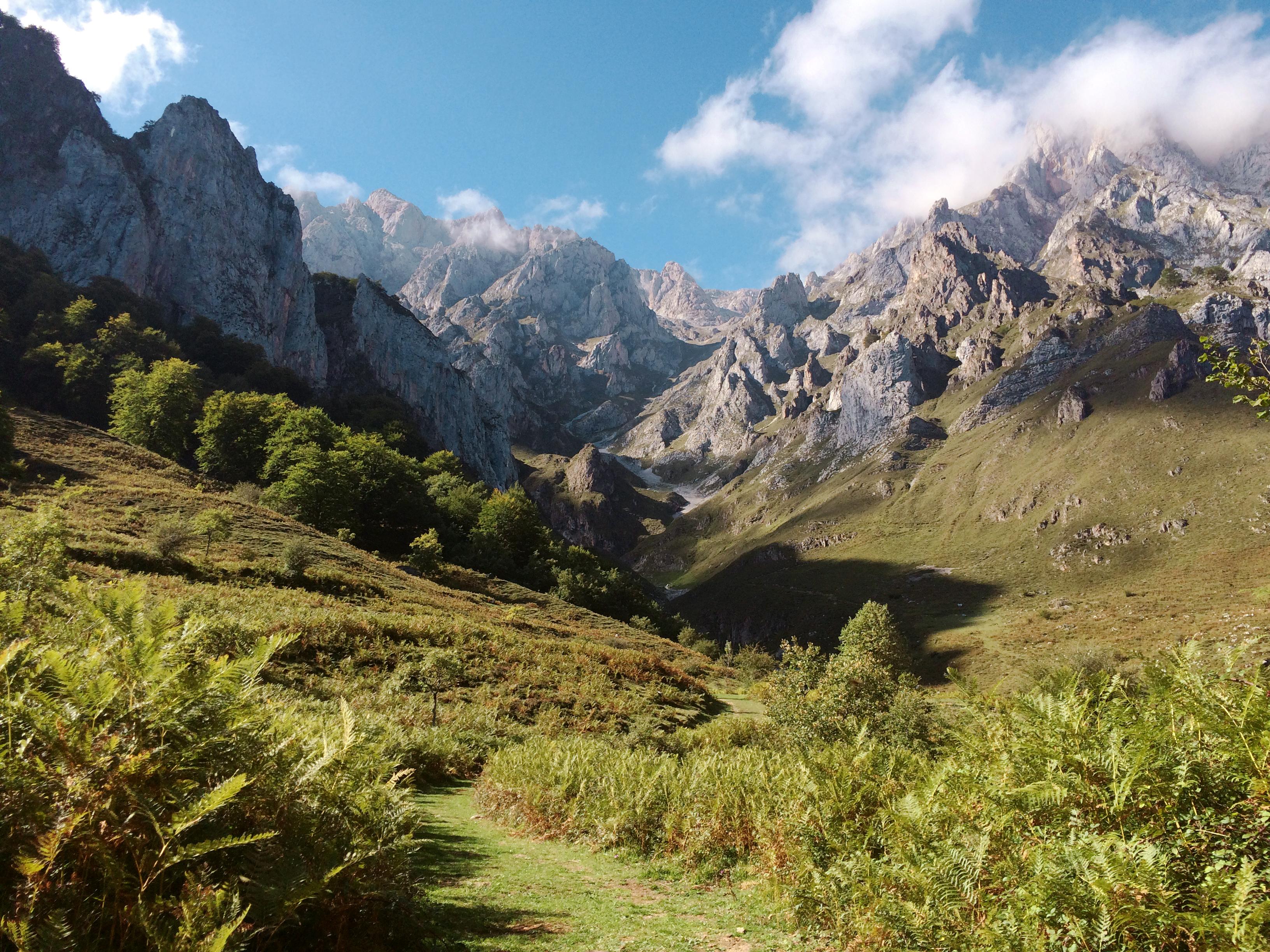 фото фото горная долина природа ранее