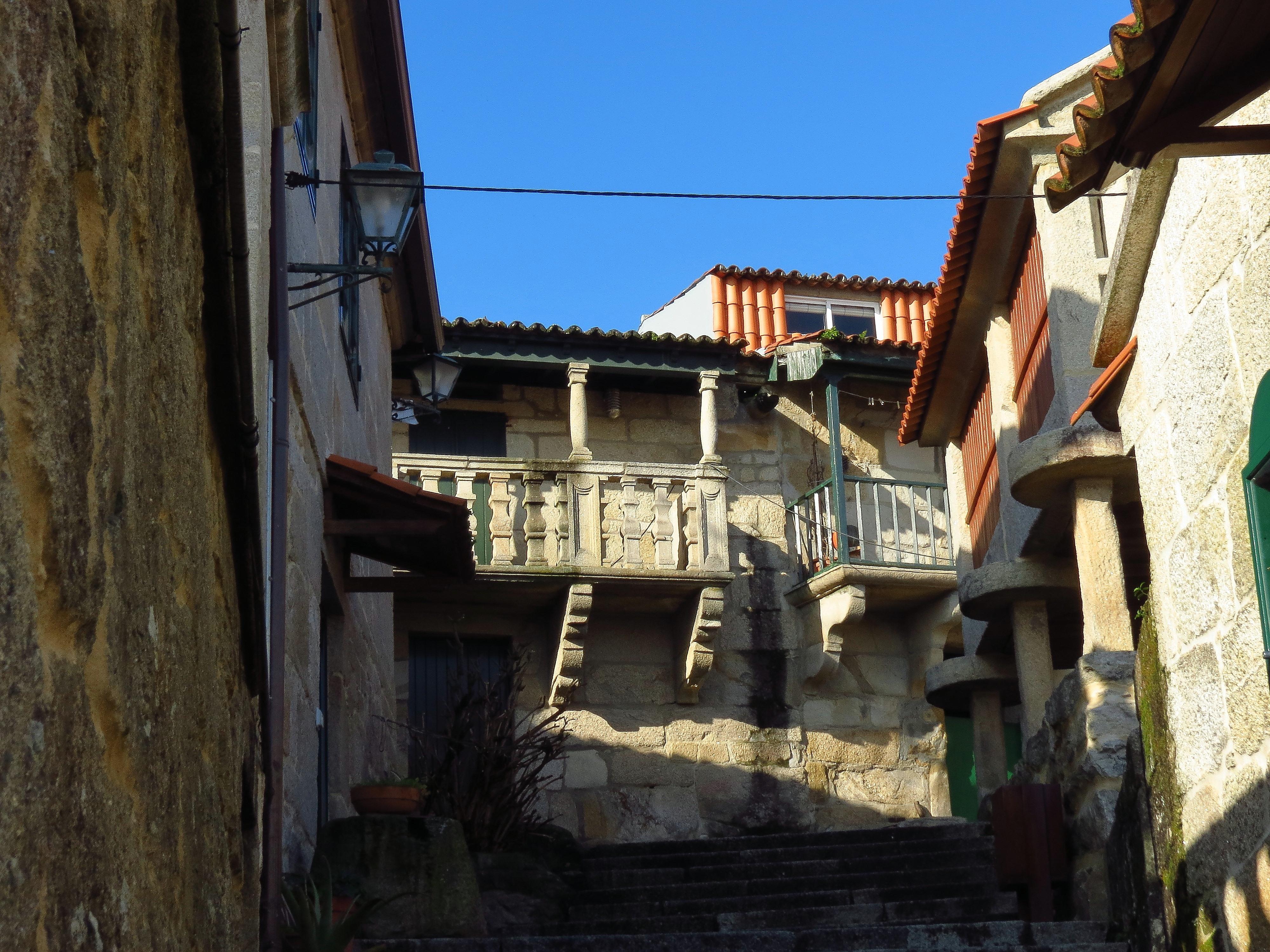 Landscape Road Street House Town Alley Home Village Spain Ruins Galicia  Pontevedra Combarro Paisajes Espana Ggl1