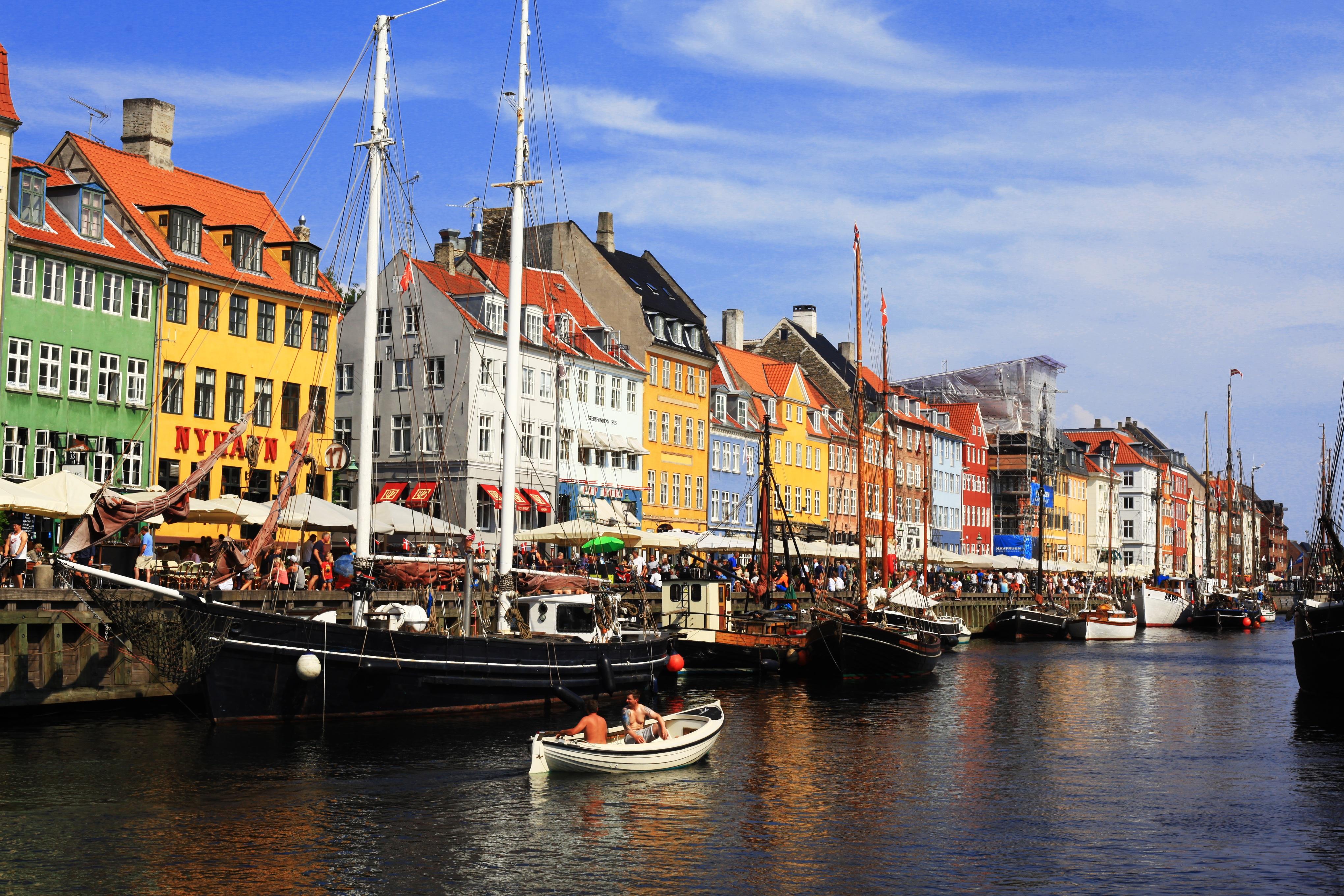 Copenhagen Harbor, Denmark скачать