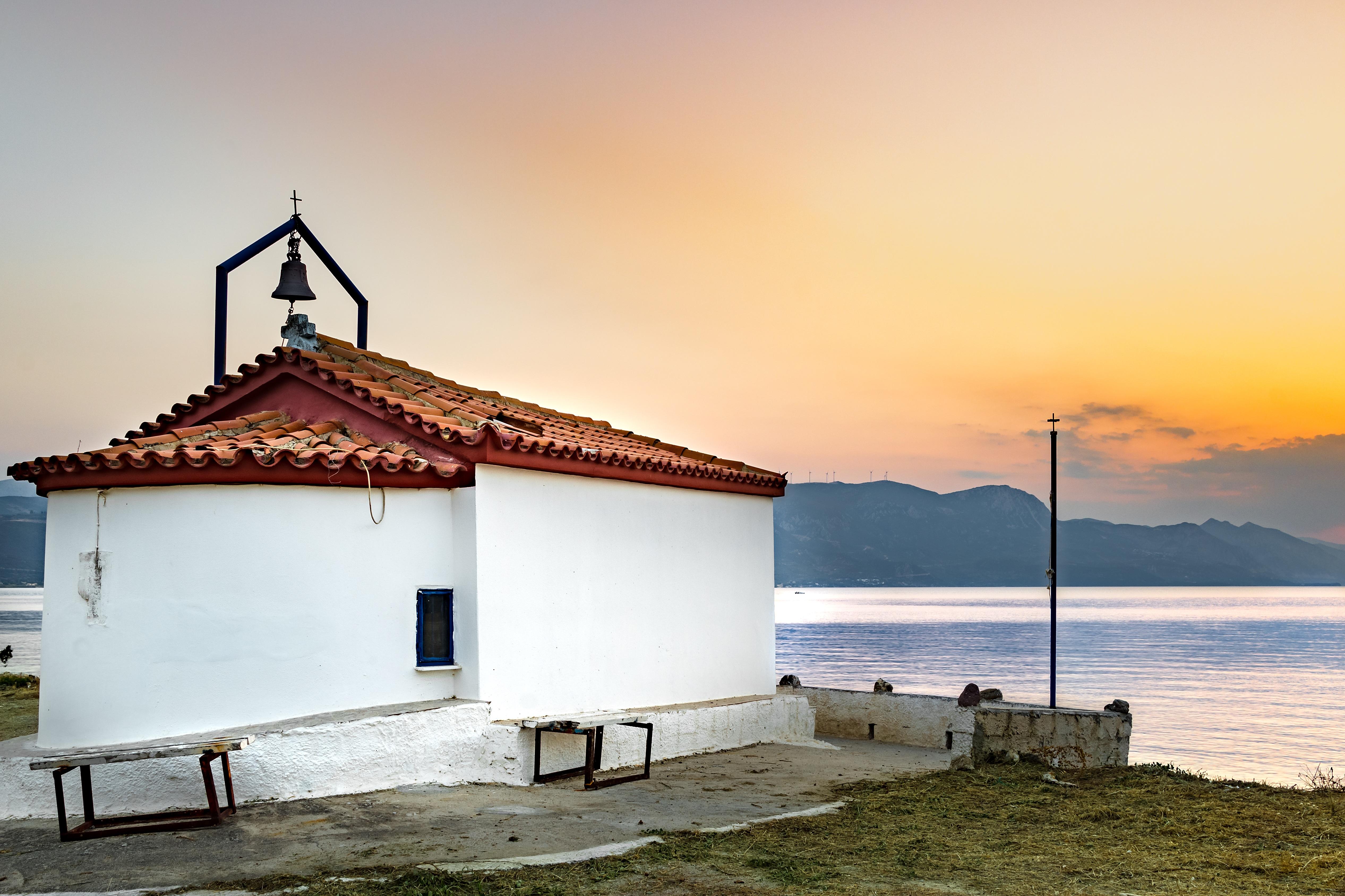 Haus am meer bei sonnenuntergang  Kostenlose foto : Landschaft, Meer, Küste, Natur, Ozean, die ...