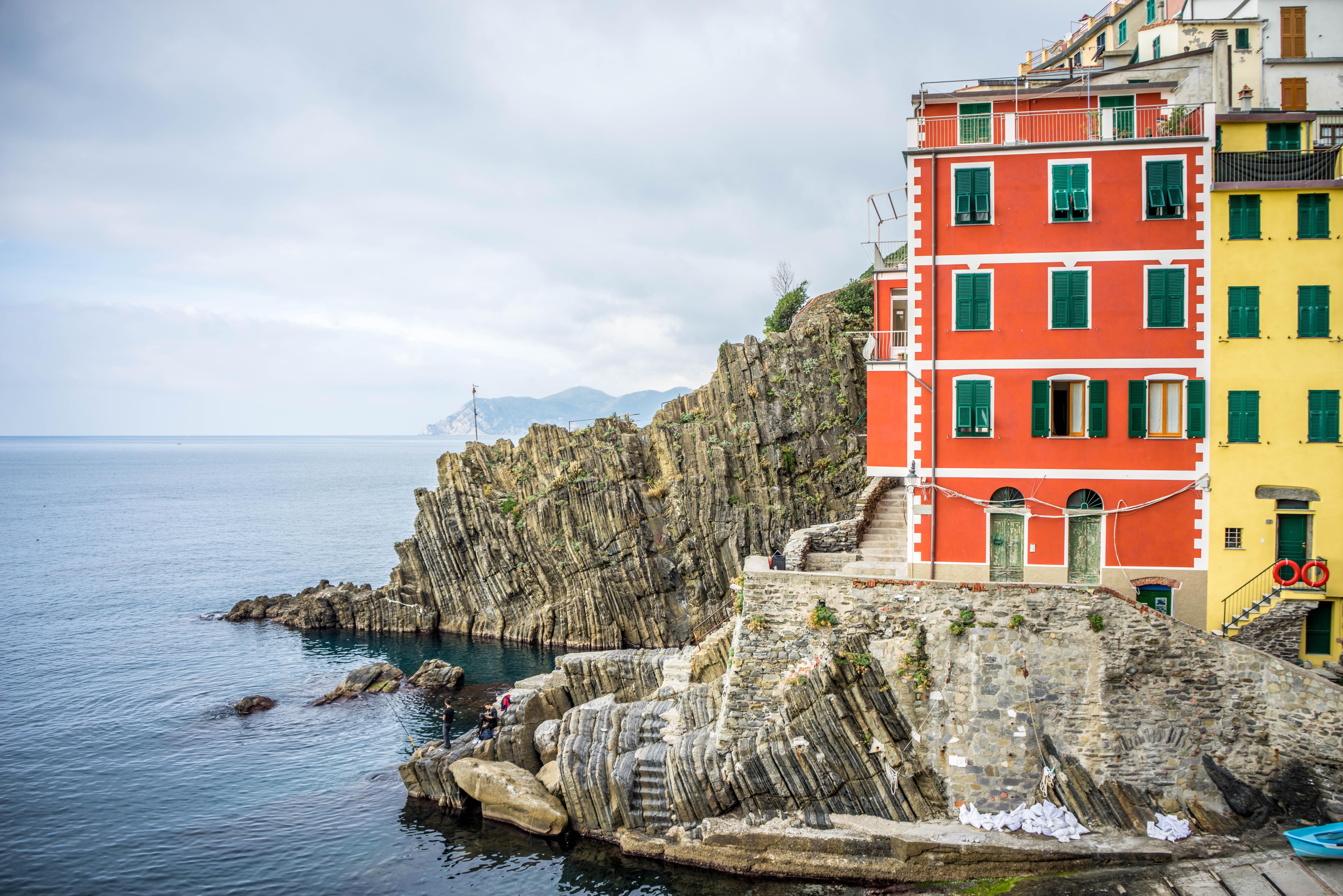 Famous Italian Architecture free images : landscape, sea, coast, nature, outdoor, mountain