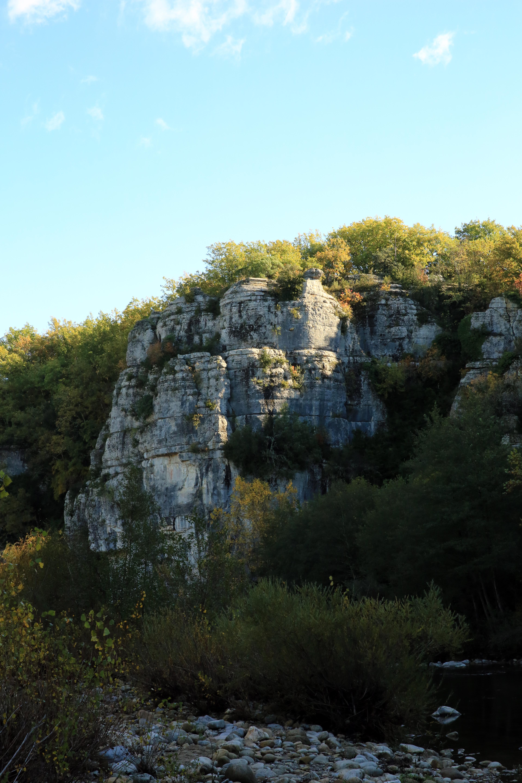 Gambar Pemandangan Laut Pantai Pohon Alam Outdoor Batu