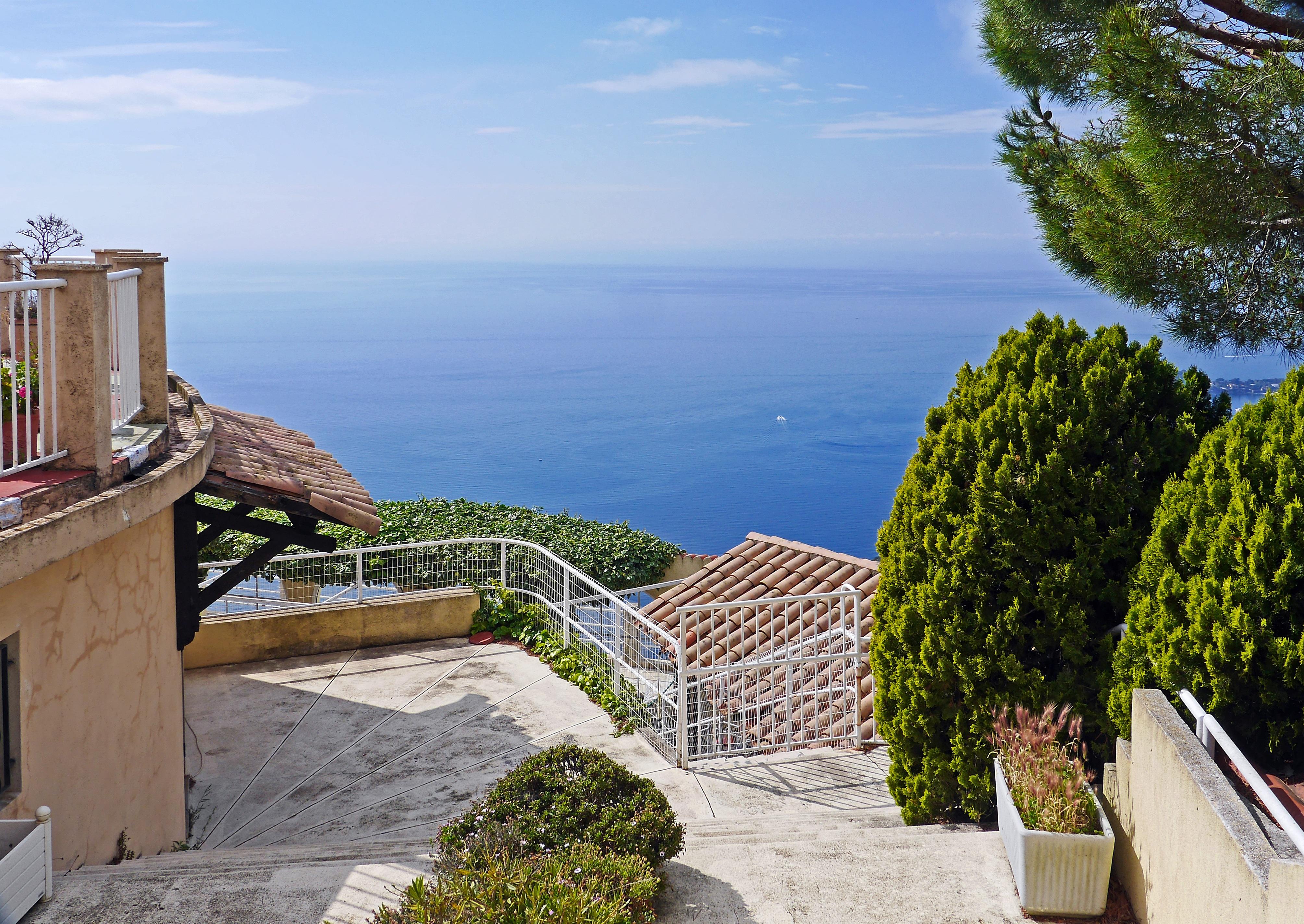 Free Images : landscape, sea, coast, water, horizon, villa, view ...
