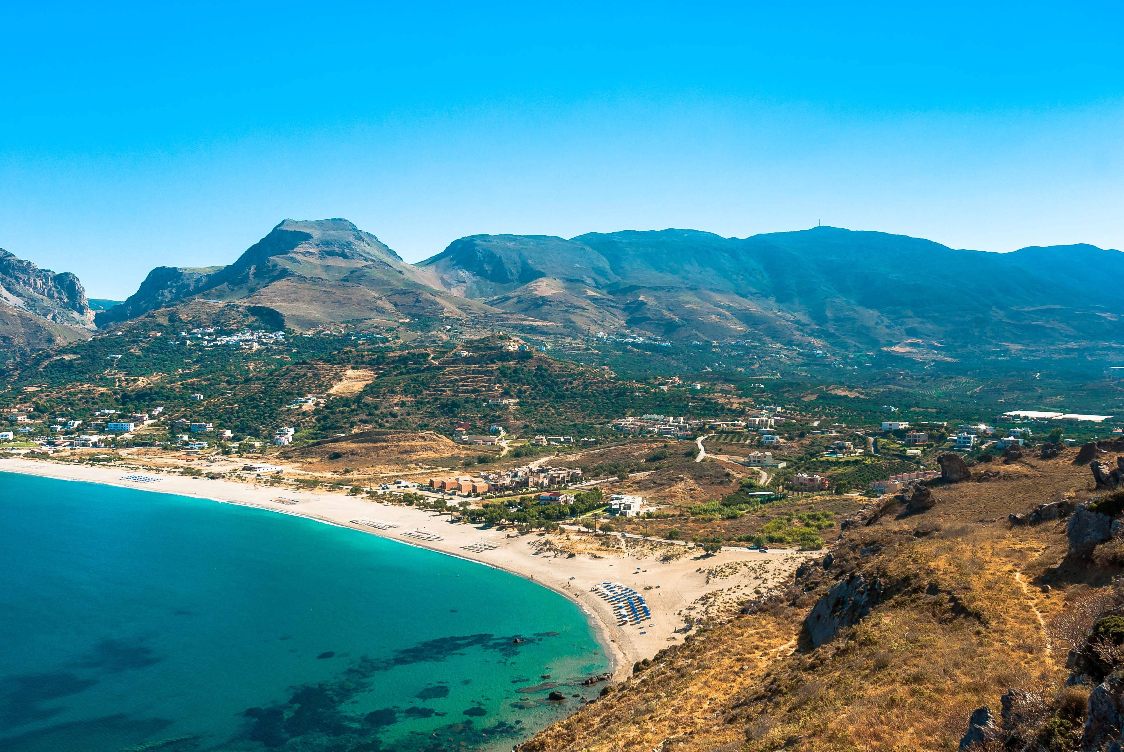 Крит картинки море