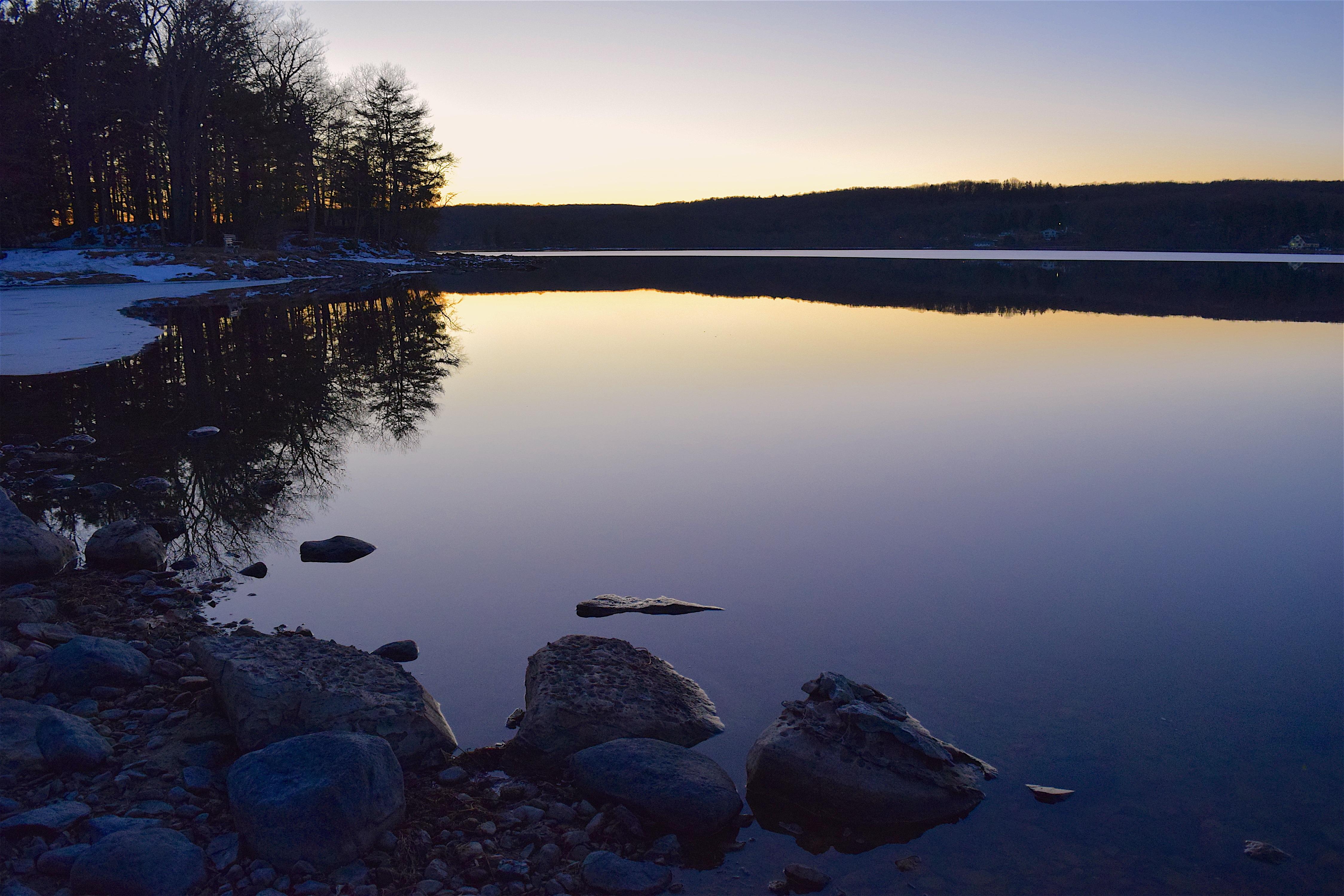 Floating In Twilight Winter Haze Like >> Free Images Landscape Sea Coast Nature Outdoor Rock Horizon