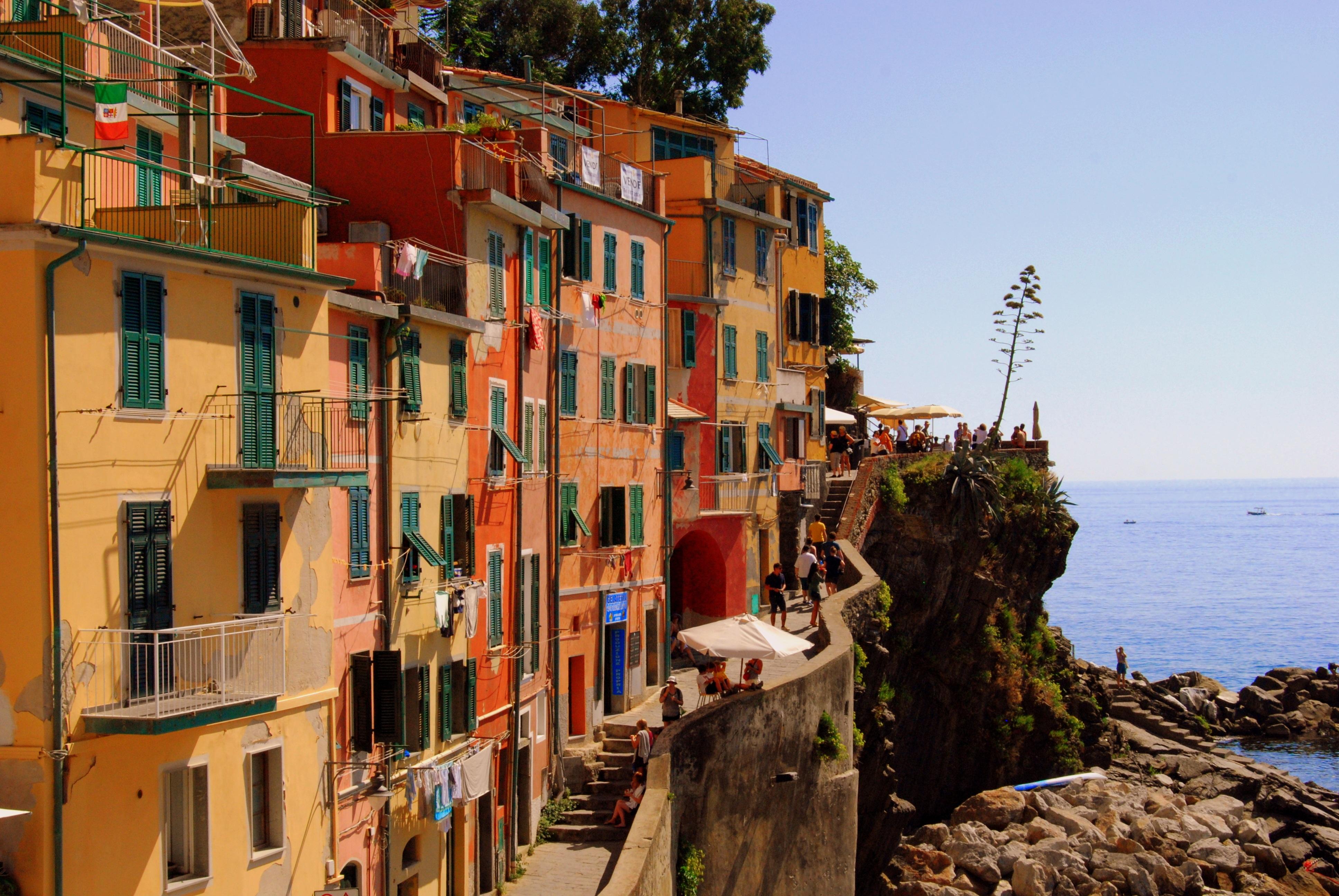 Häuser Italien kostenlose foto landschaft meer küste wasser stadt italien