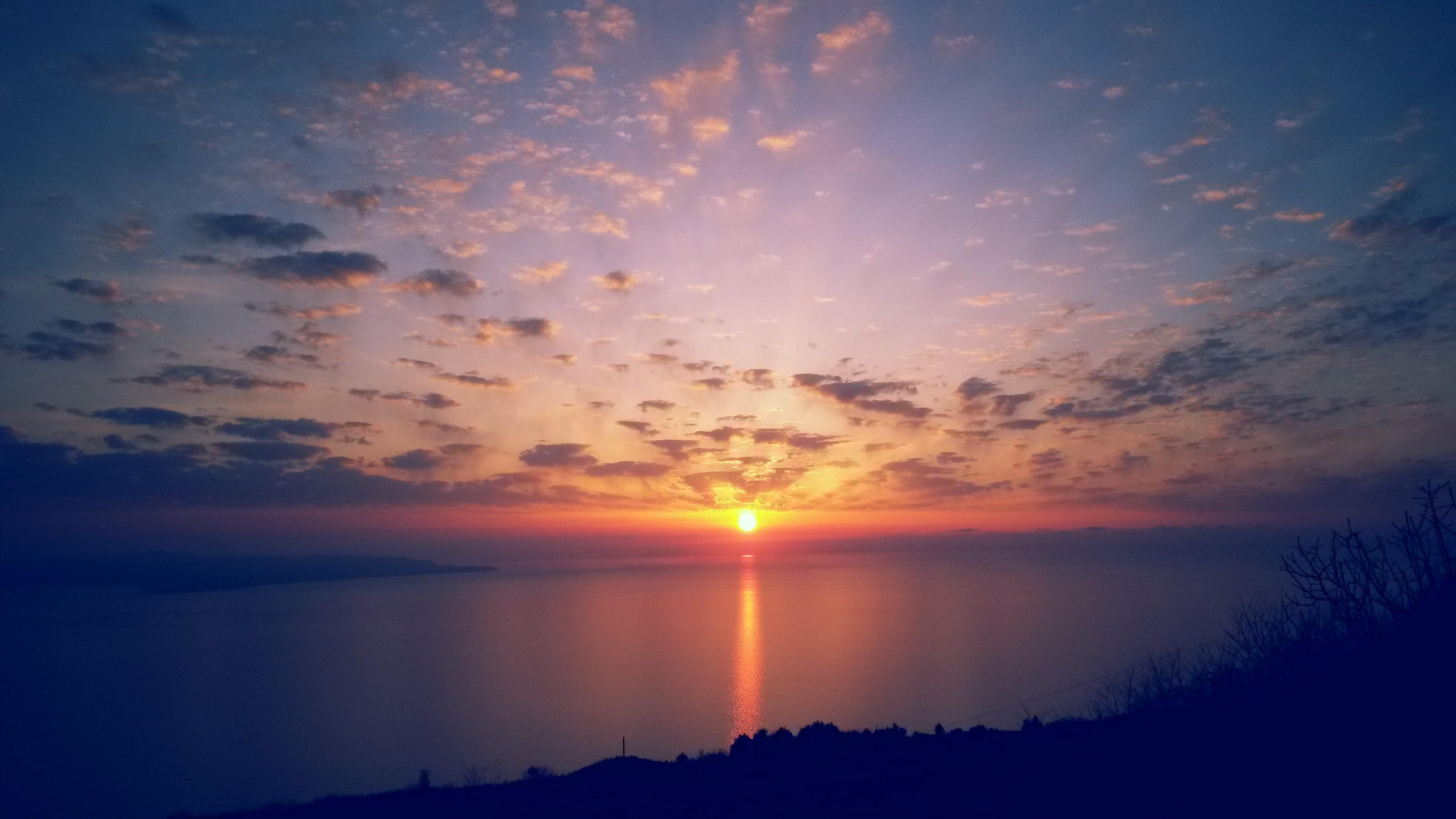 Images gratuites paysage mer la nature horizon nuage for Agence horizon paysage
