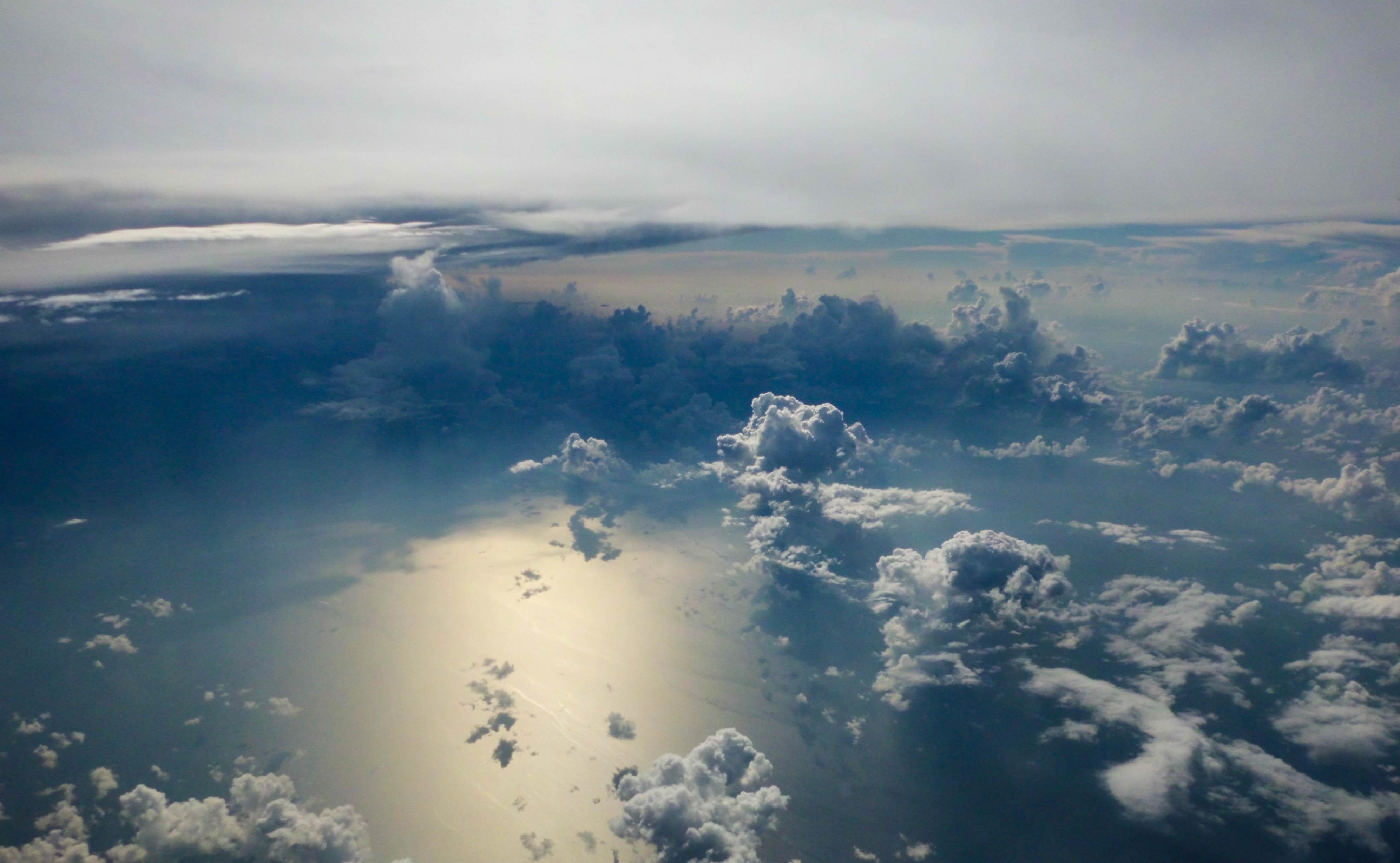 небо фото с высоты лакомство