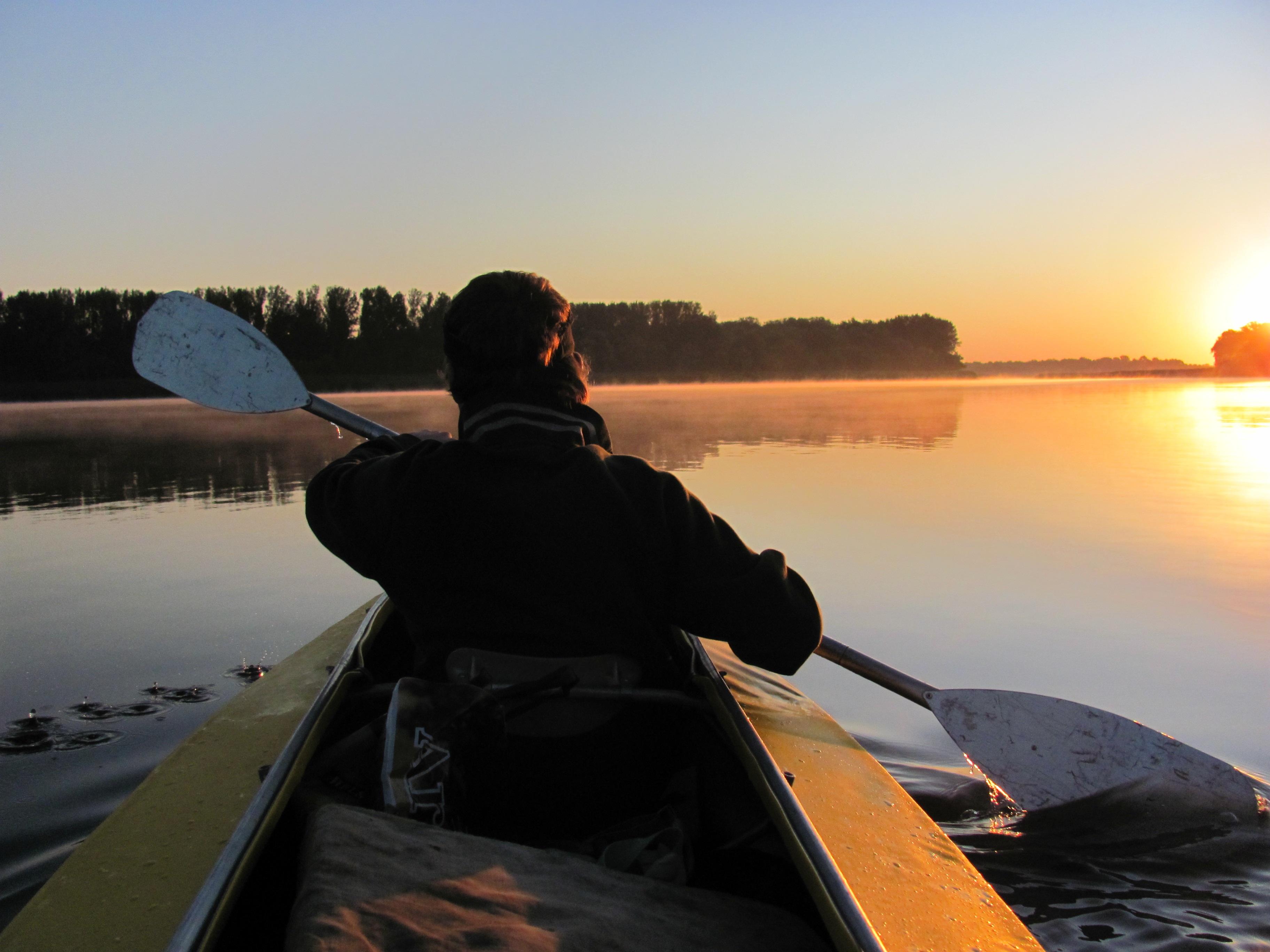 Free Images Landscape Nature Silhouette Sky Sun Sunrise Sunset Boat Sunlight Dawn River Photo Panorama Canoe Dusk Evening Paddle