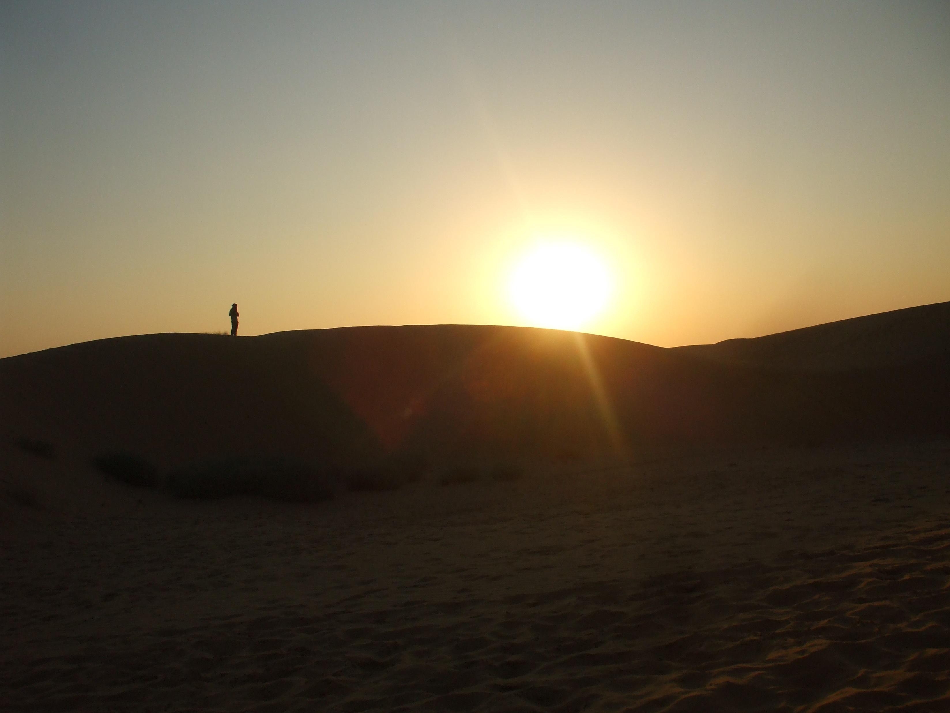 было фотографии восхода солнца в пустыне освоения