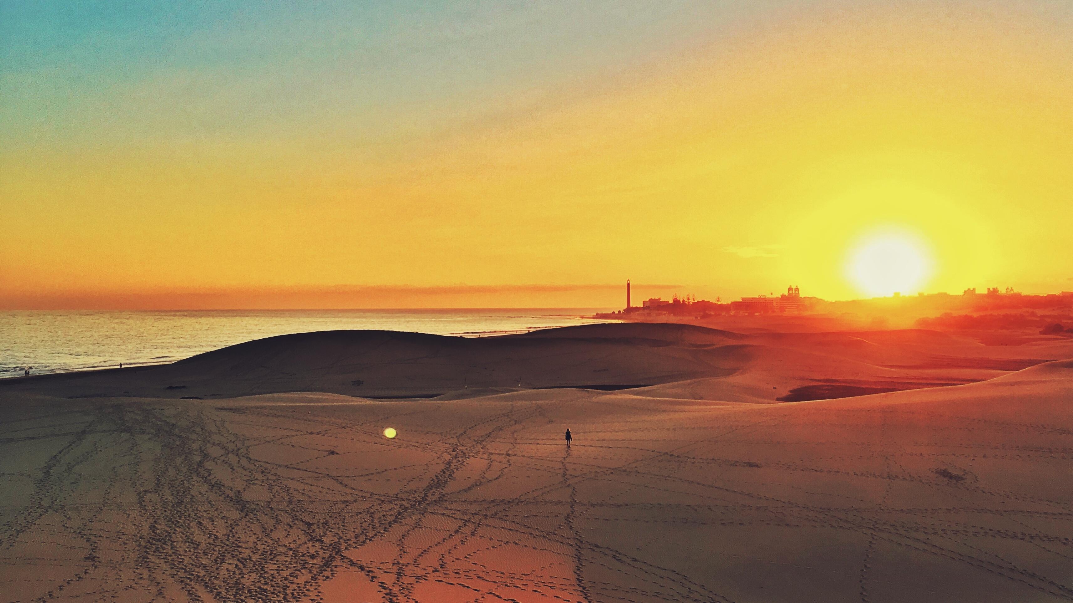 картинки пустыня рассвет веселый