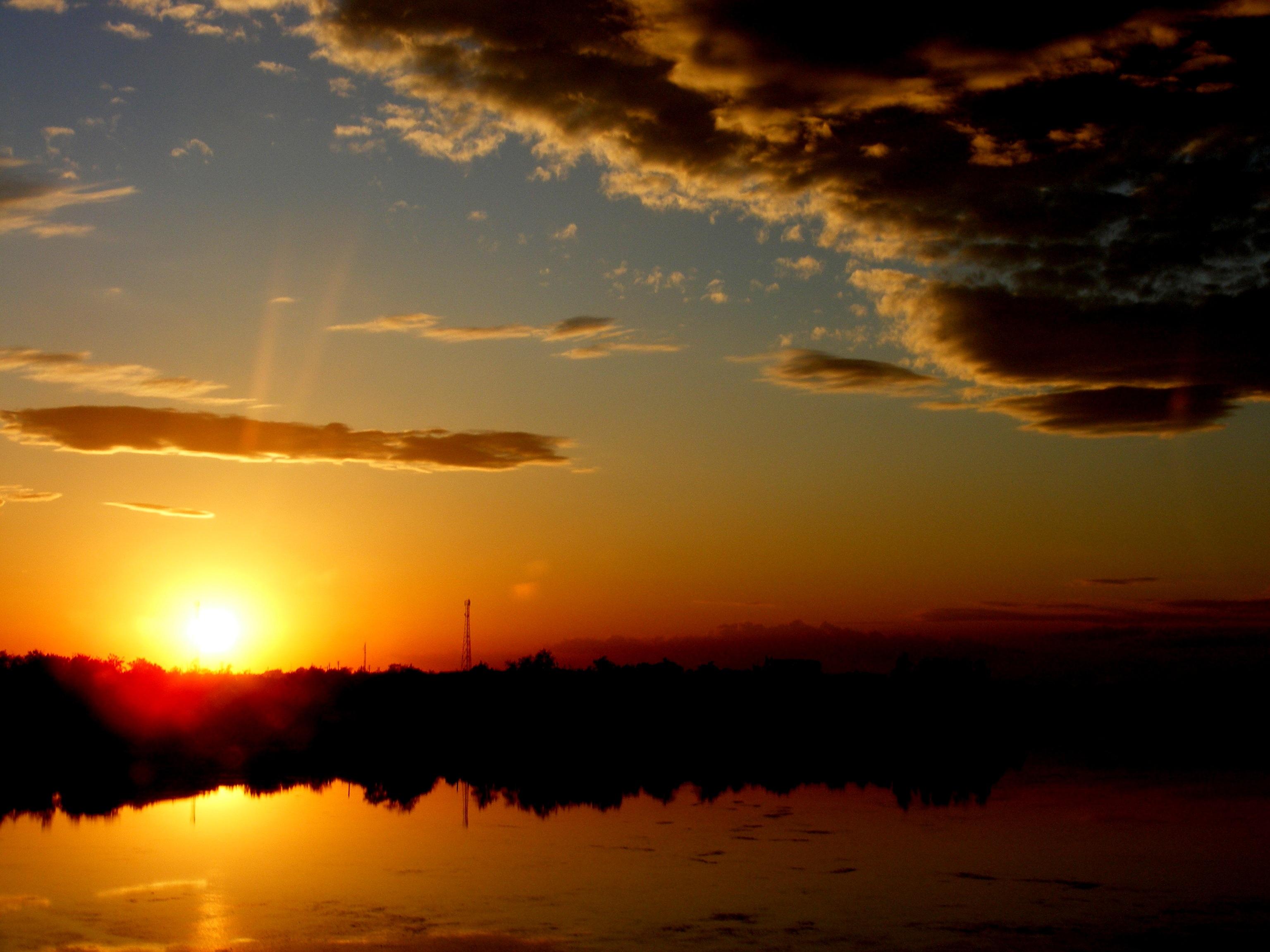 фото восхода и заката солнца победа