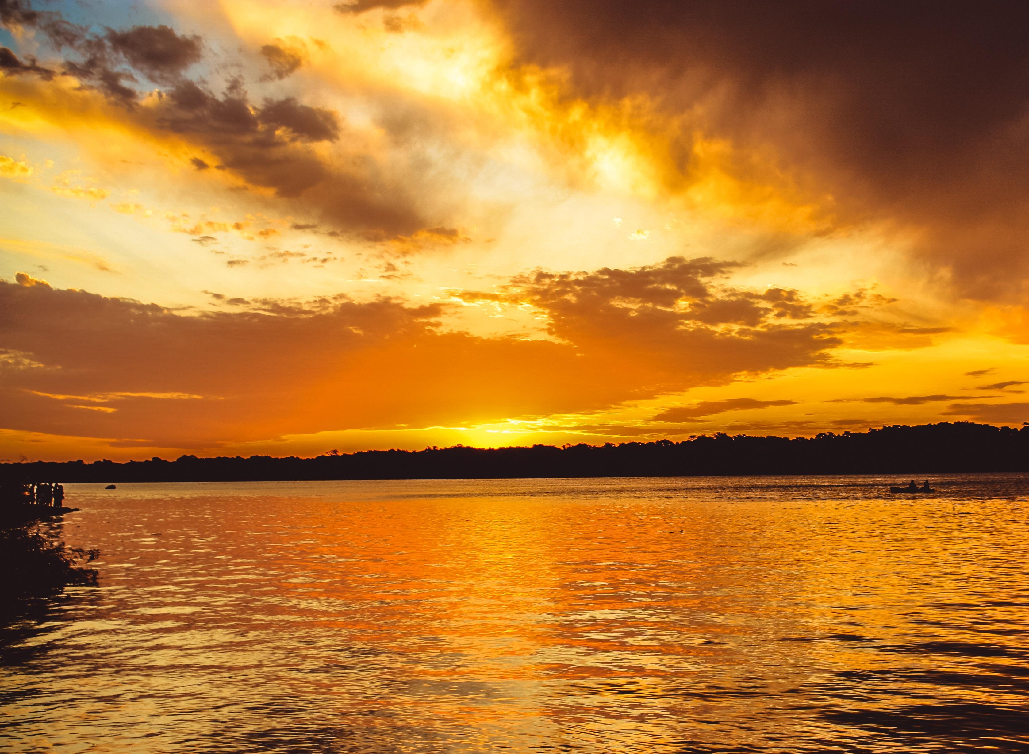 фото закат рассвет вода времена, славились только