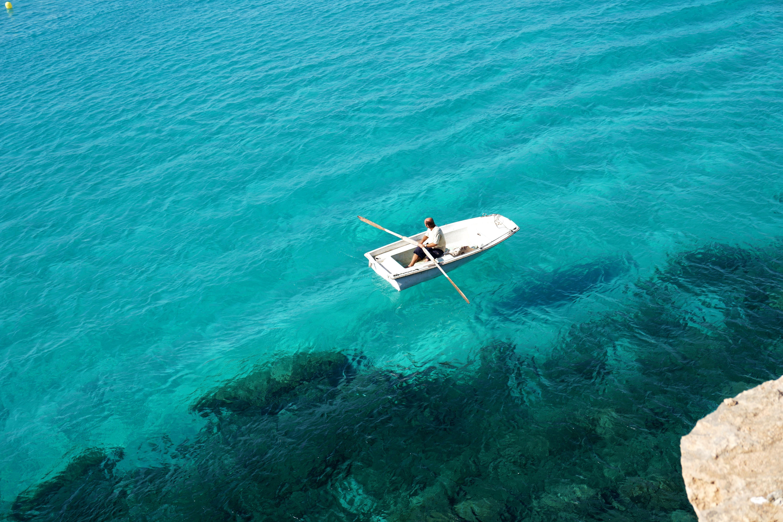 Kostenlose foto : Landschaft, Meer, Natur, Ozean, Weiß, Boot ...