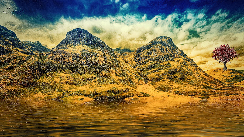 Free Images : landscape, sea, water, nature, rock, wilderness ... for Fantasy Water Landscape  155fiz