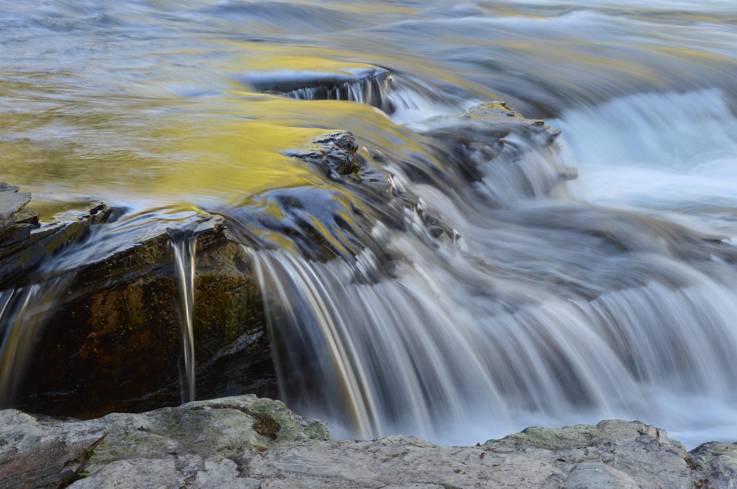 Free Images : landscape, sea, rock, waterfall, wilderness ...
