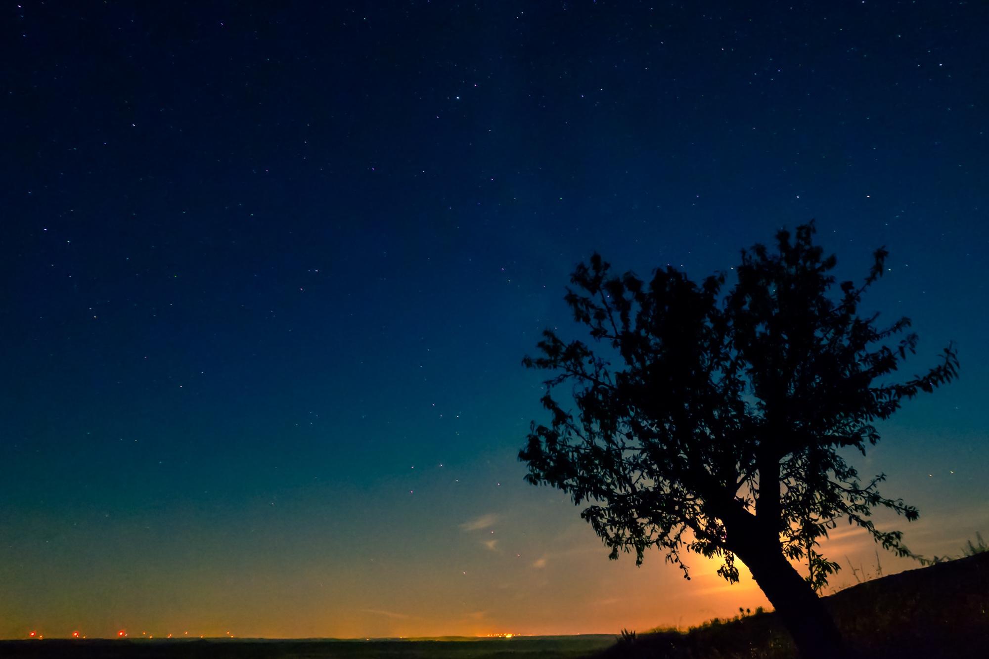 83 Gambar Pemandangan Langit Malam Paling Bagus