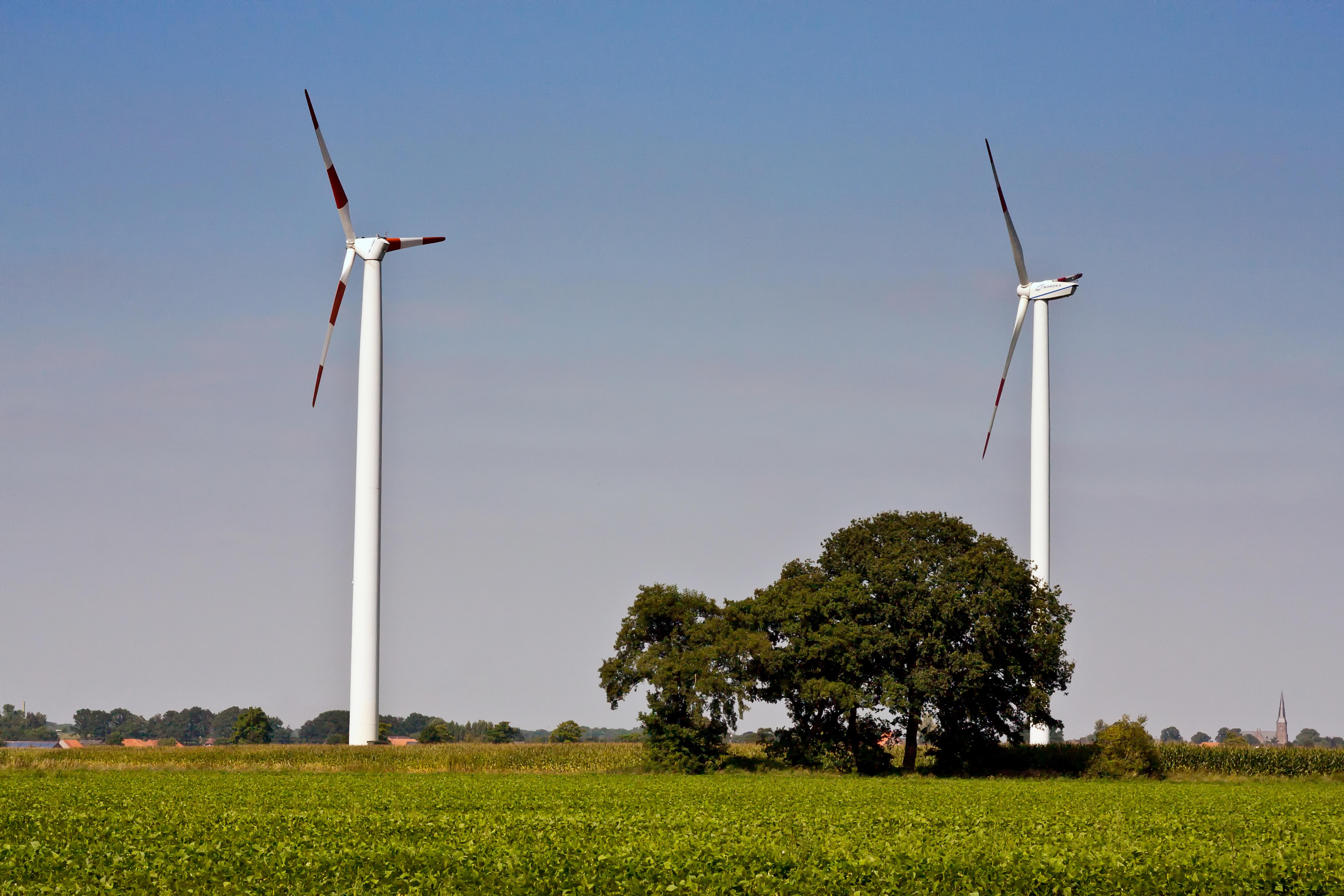 Free landscape sky sun field windmill environment