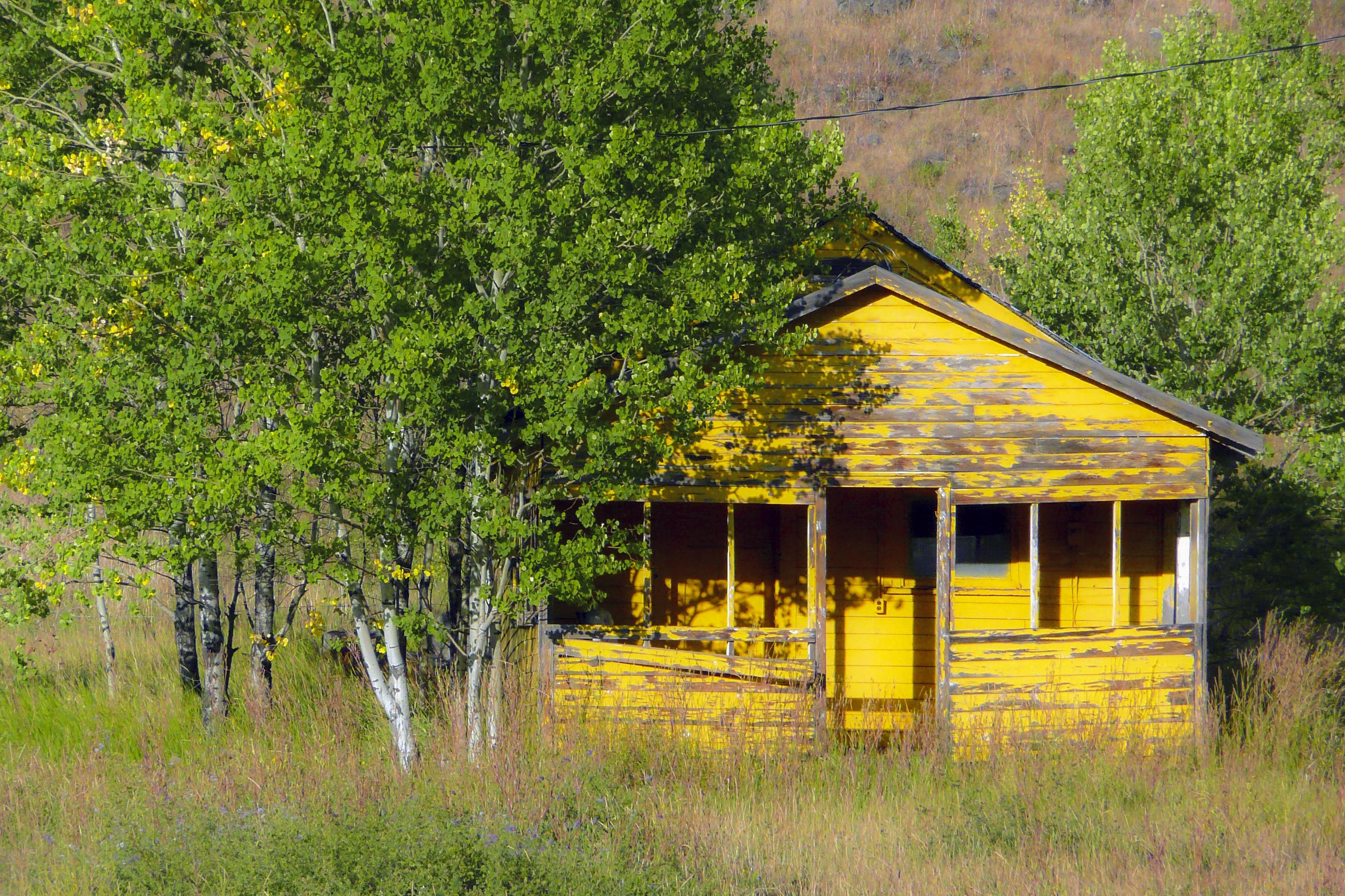 Images Gratuites : paysage, arbre, ferme, maison, bâtiment, cabane ...