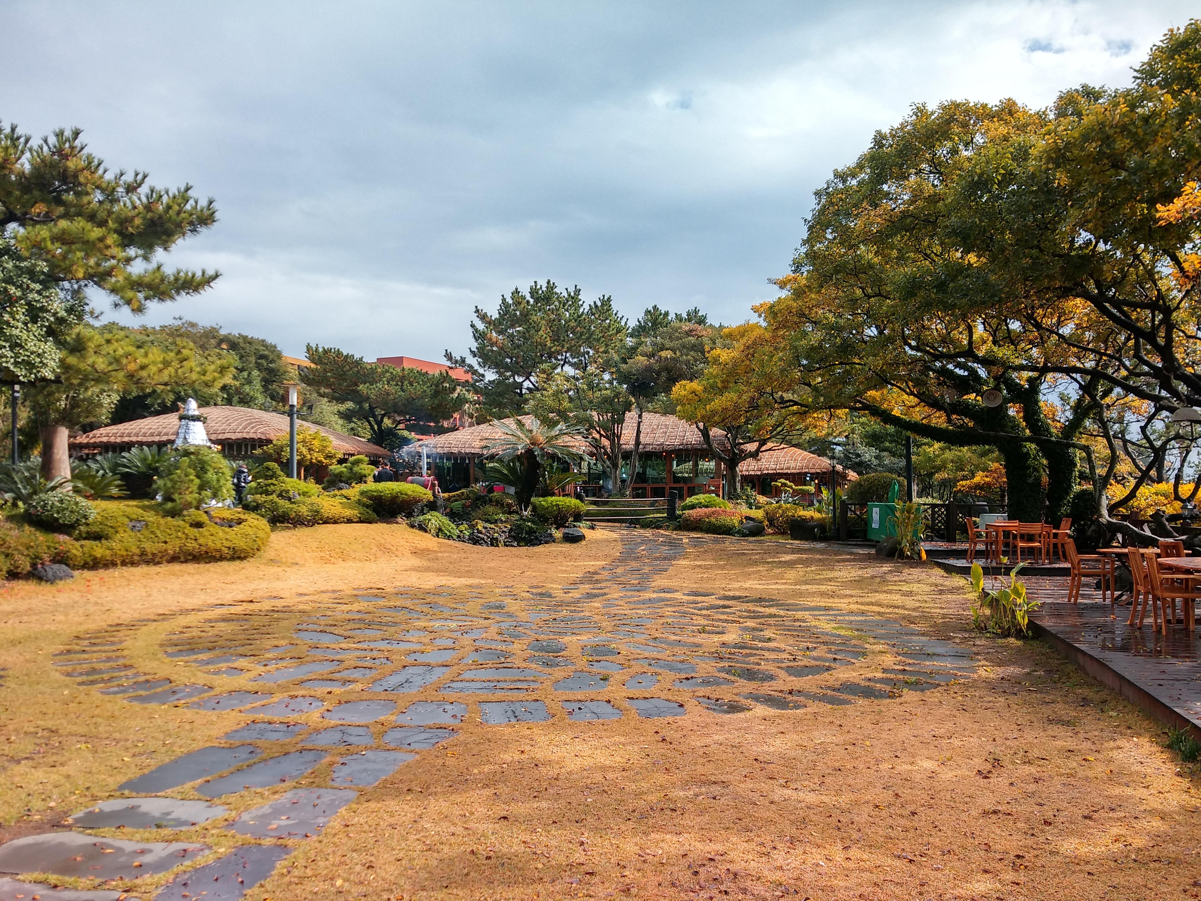 Landschaft Baum Zuhause Dorf Hinterhof Garten Immobilien Garten Ländliches  Gebiet Jeju Insel Wohngebiet Haevichi Hotel