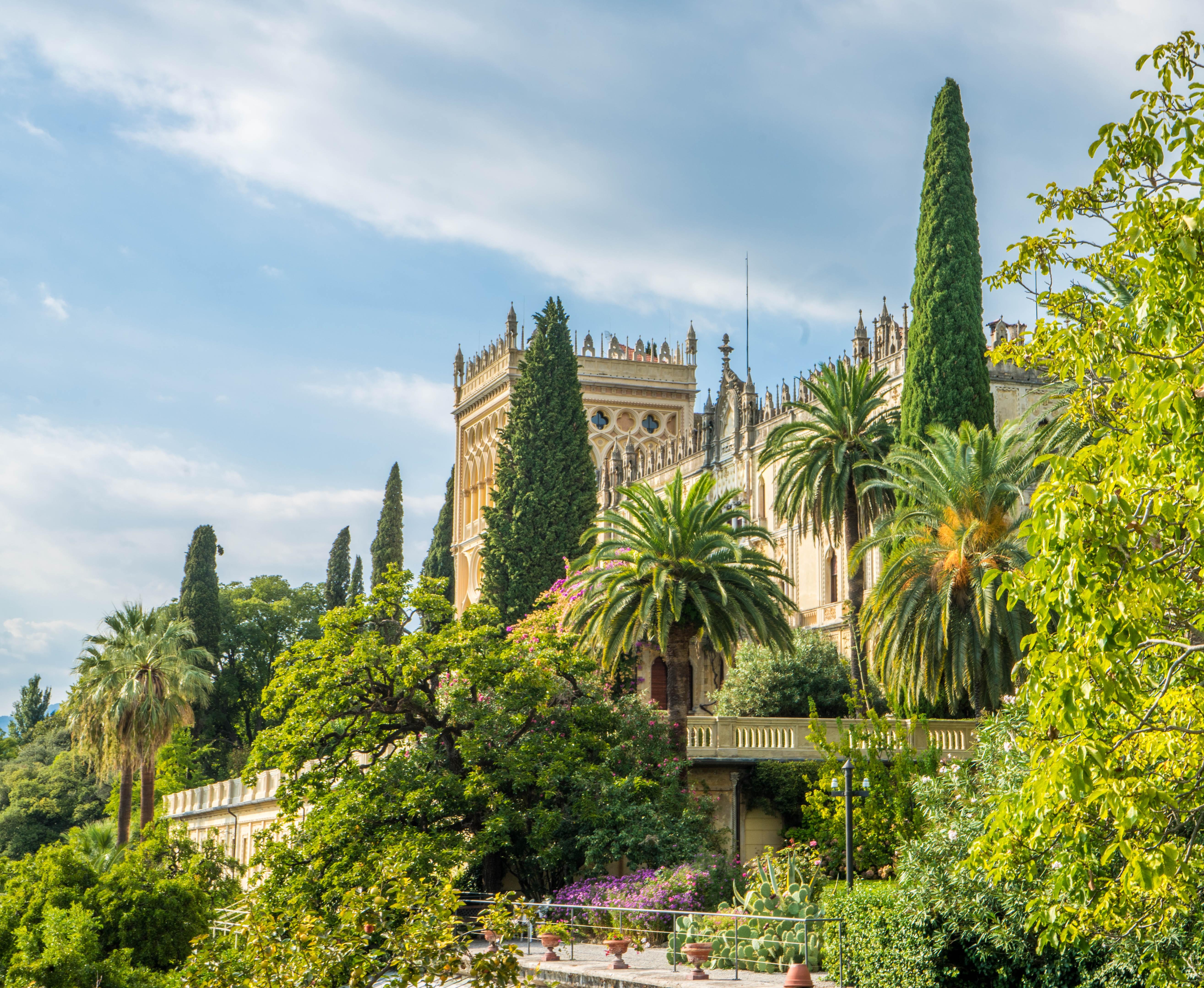 Lake Garda Botanical Gardens Garden Ftempo