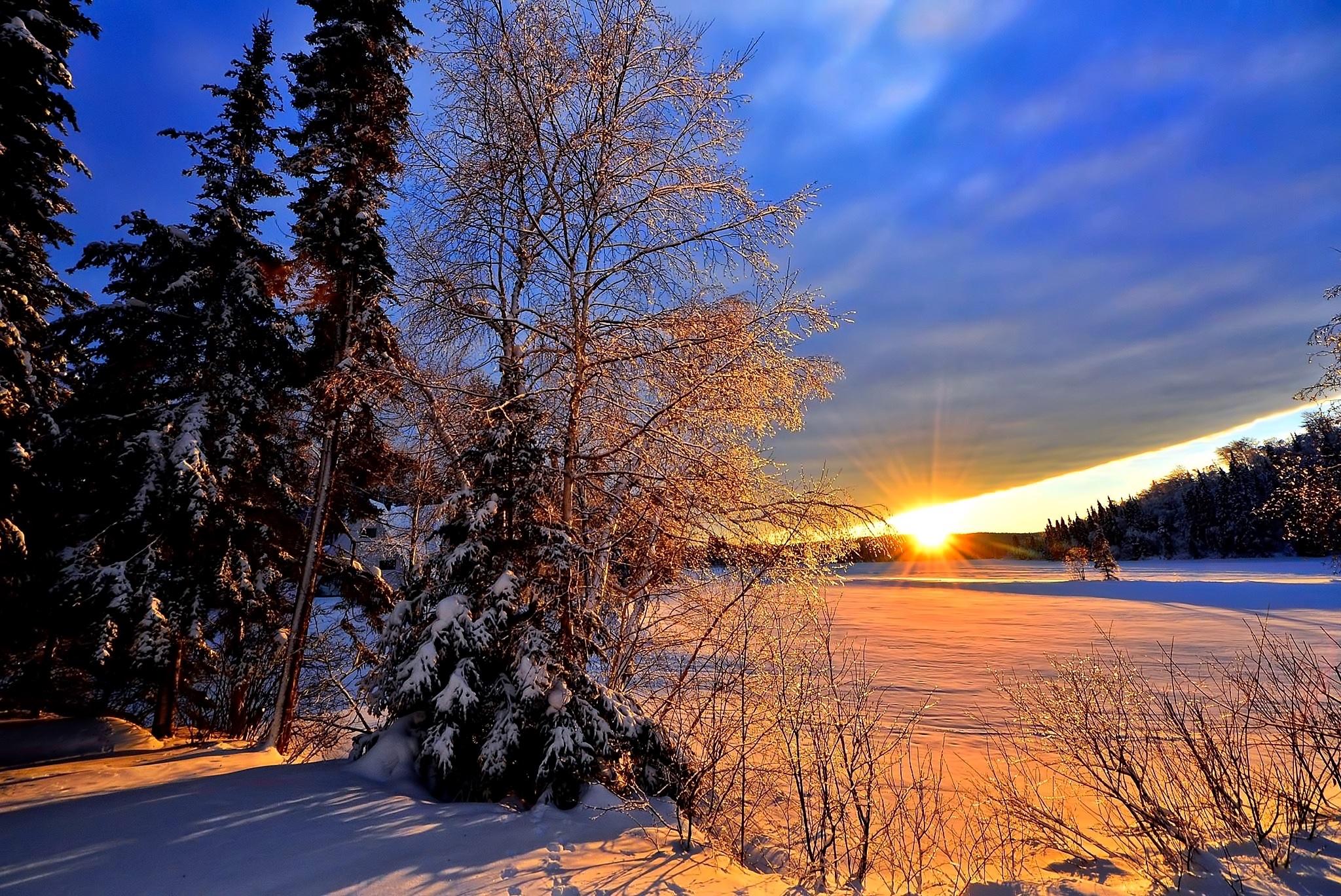 Images gratuites paysage arbre la nature branche neige du froid hiver plante lever du - Meteo lever et coucher du soleil ...