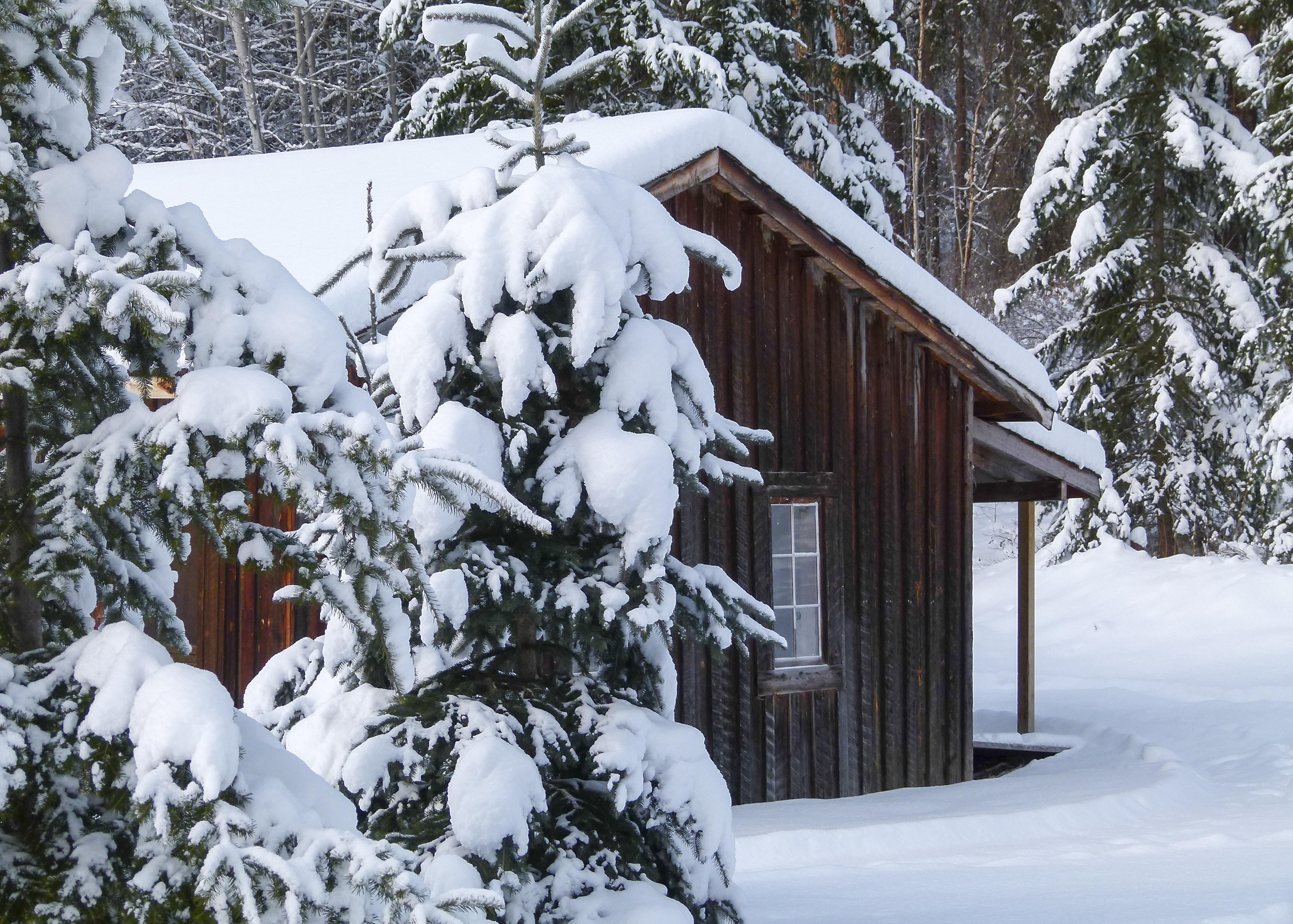 дача в снегу картинки системы
