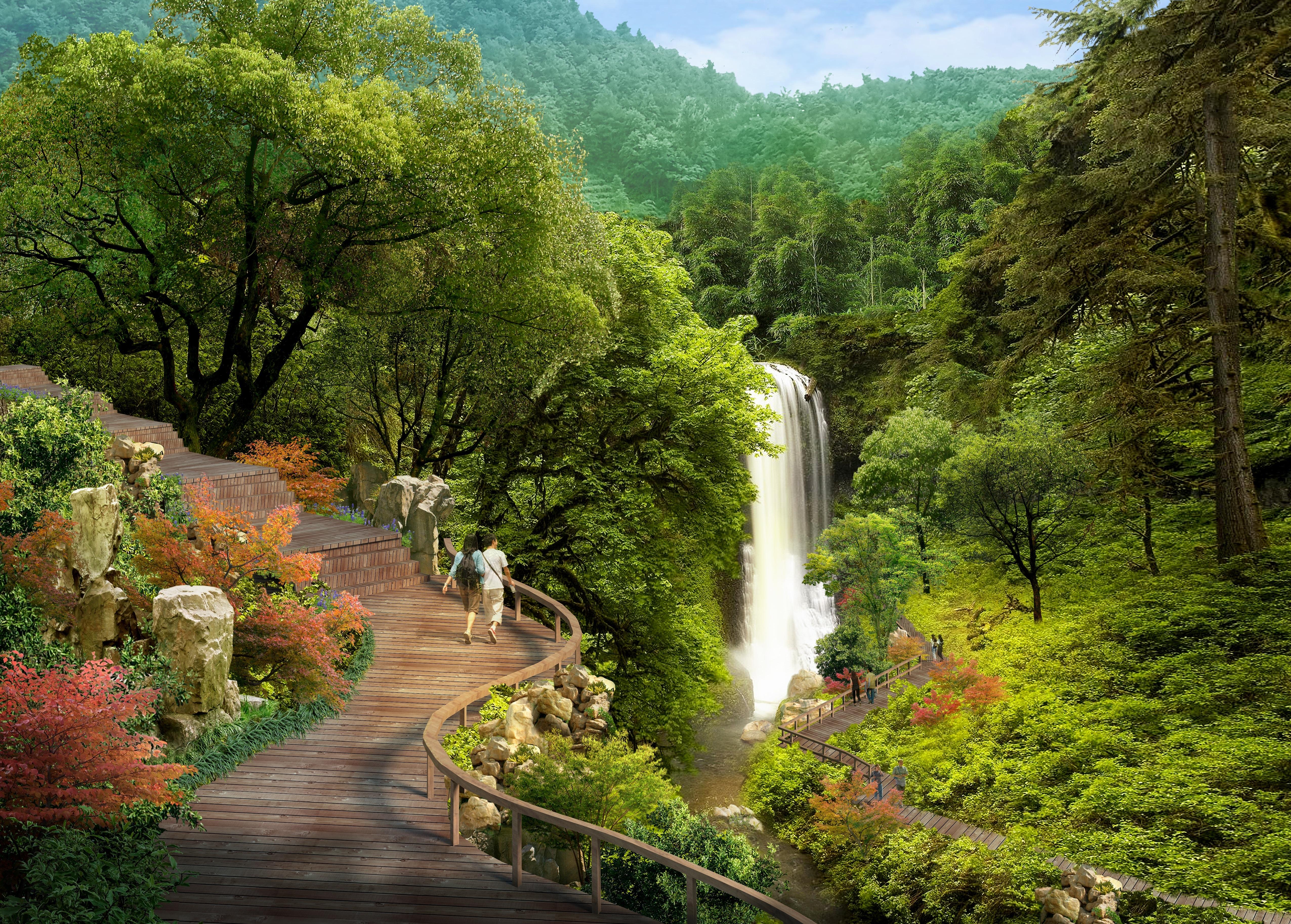 Architecte Jardin 3D Gratuit images gratuites : paysage, arbre, la nature, cascade