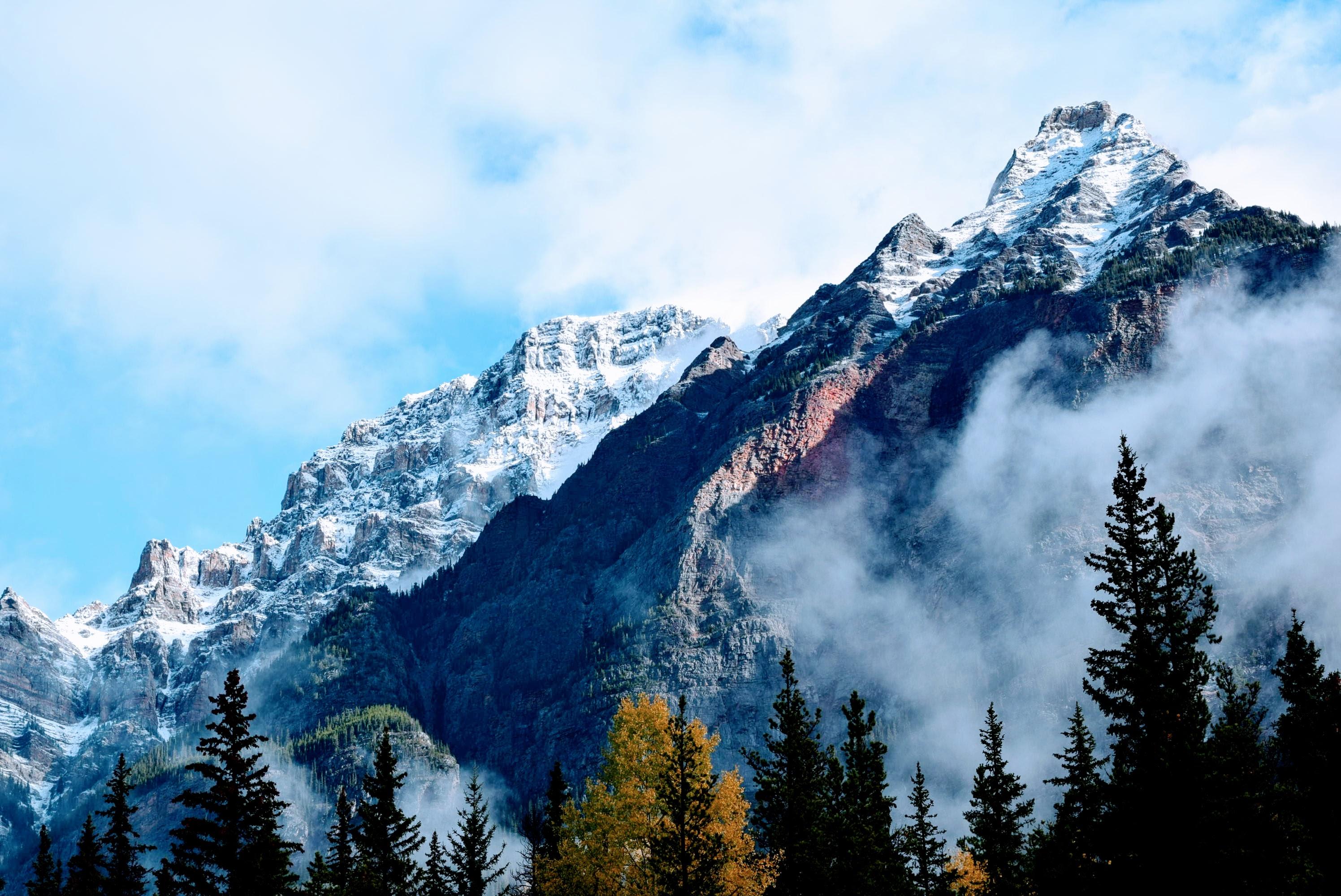 картинки горные снежные вершины заваленый