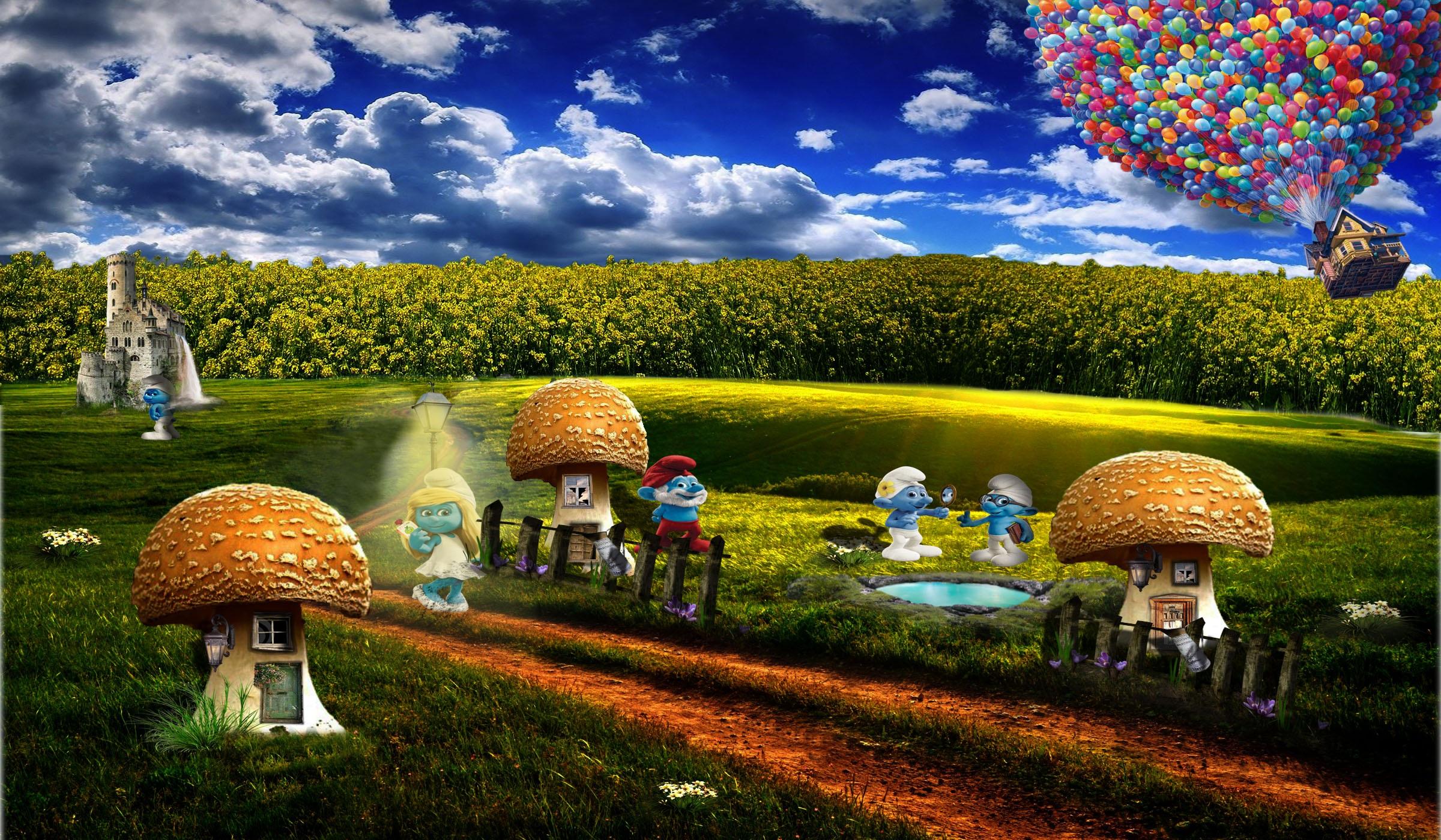 Gambar : pemandangan, pohon, alam, awan, langit, tanah