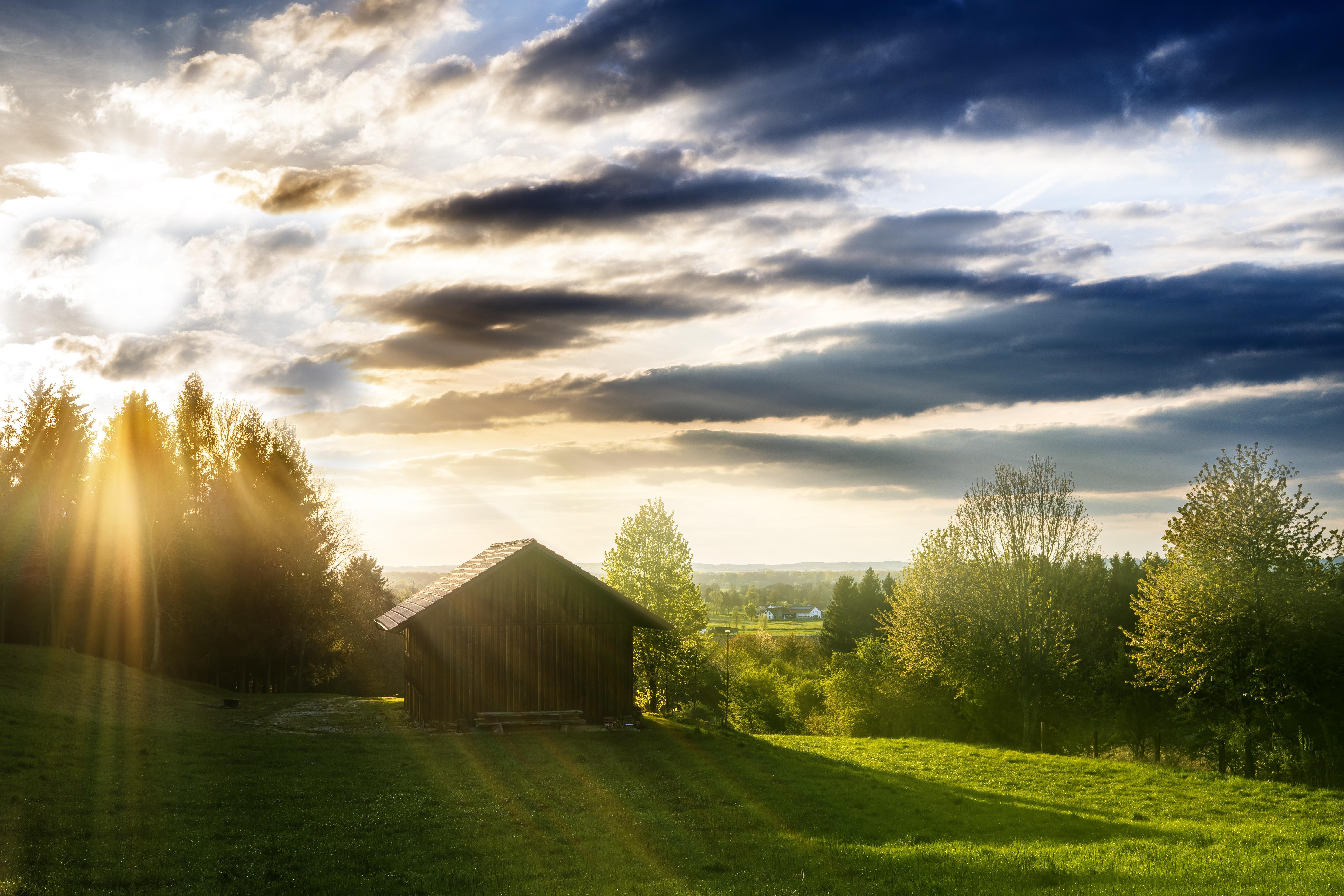 Free Images : Landscape, Tree, Nature, Grass, Horizon, Cloud, Sun, Sunrise,  Sunset, Field, Lawn, Meadow, Prairie, Sunlight, Morning, Hill, Flower,  Building, ...
