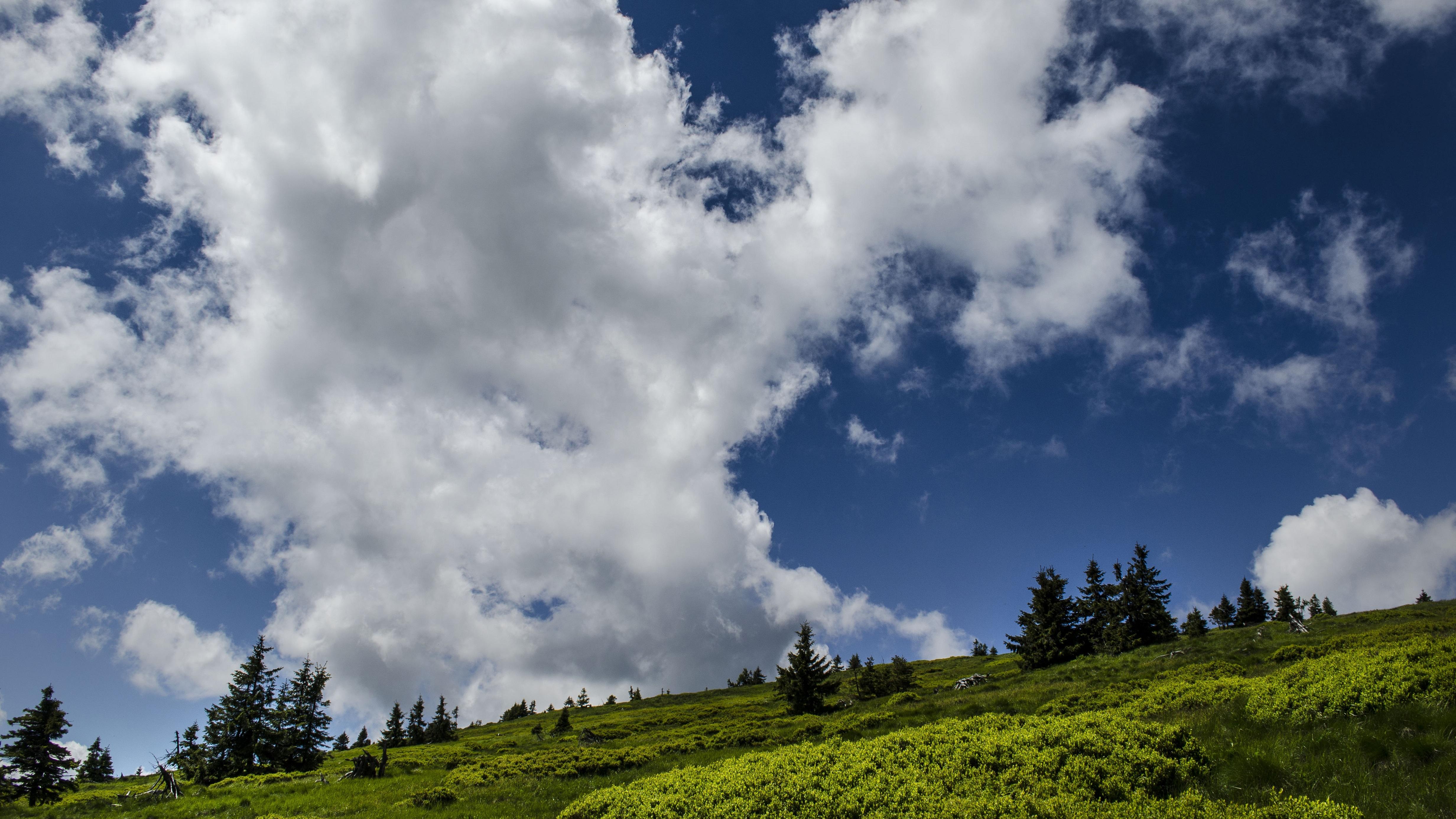 фото красивое облачное небо способности расти
