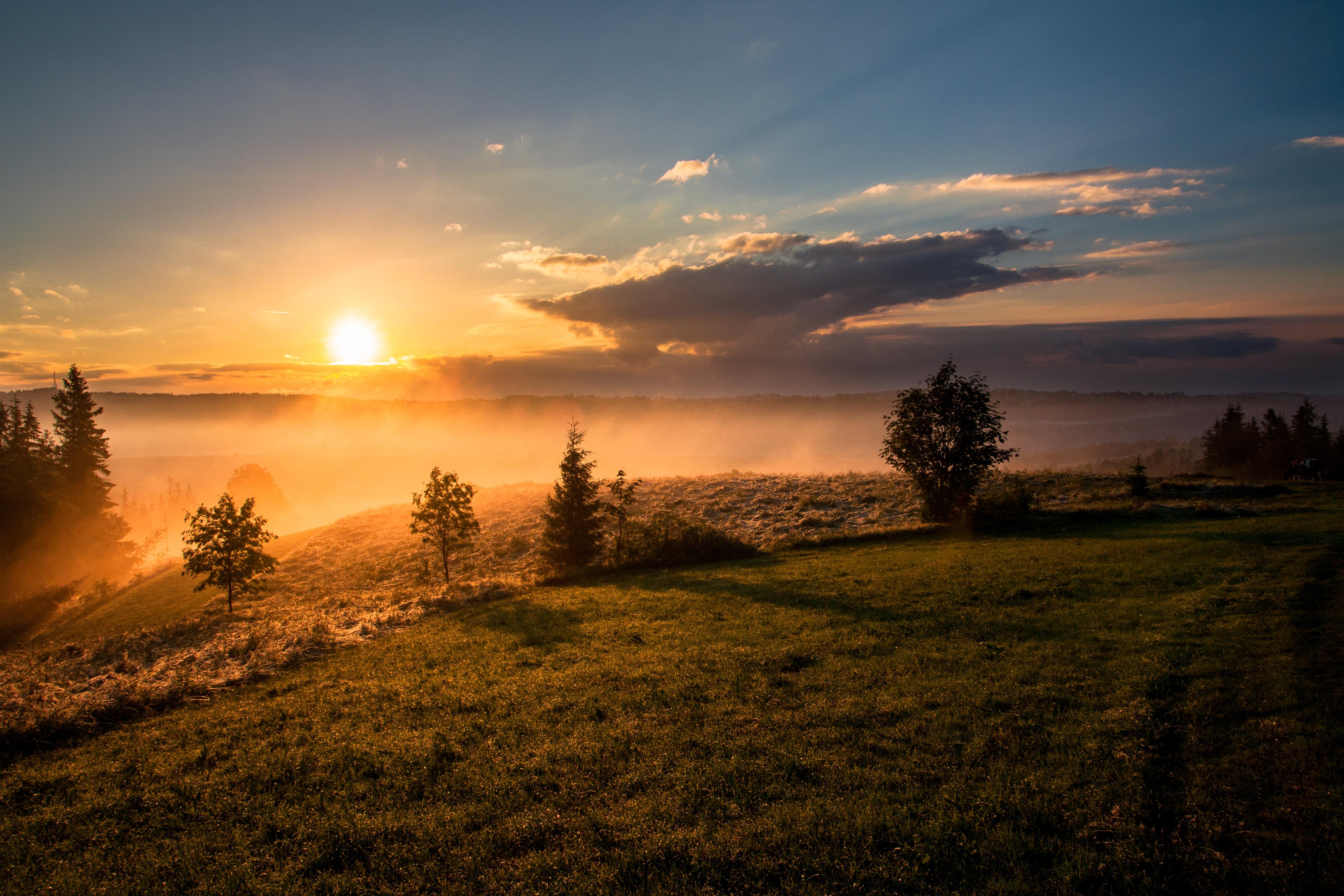 закат склон sunset the slope  № 1569322 загрузить