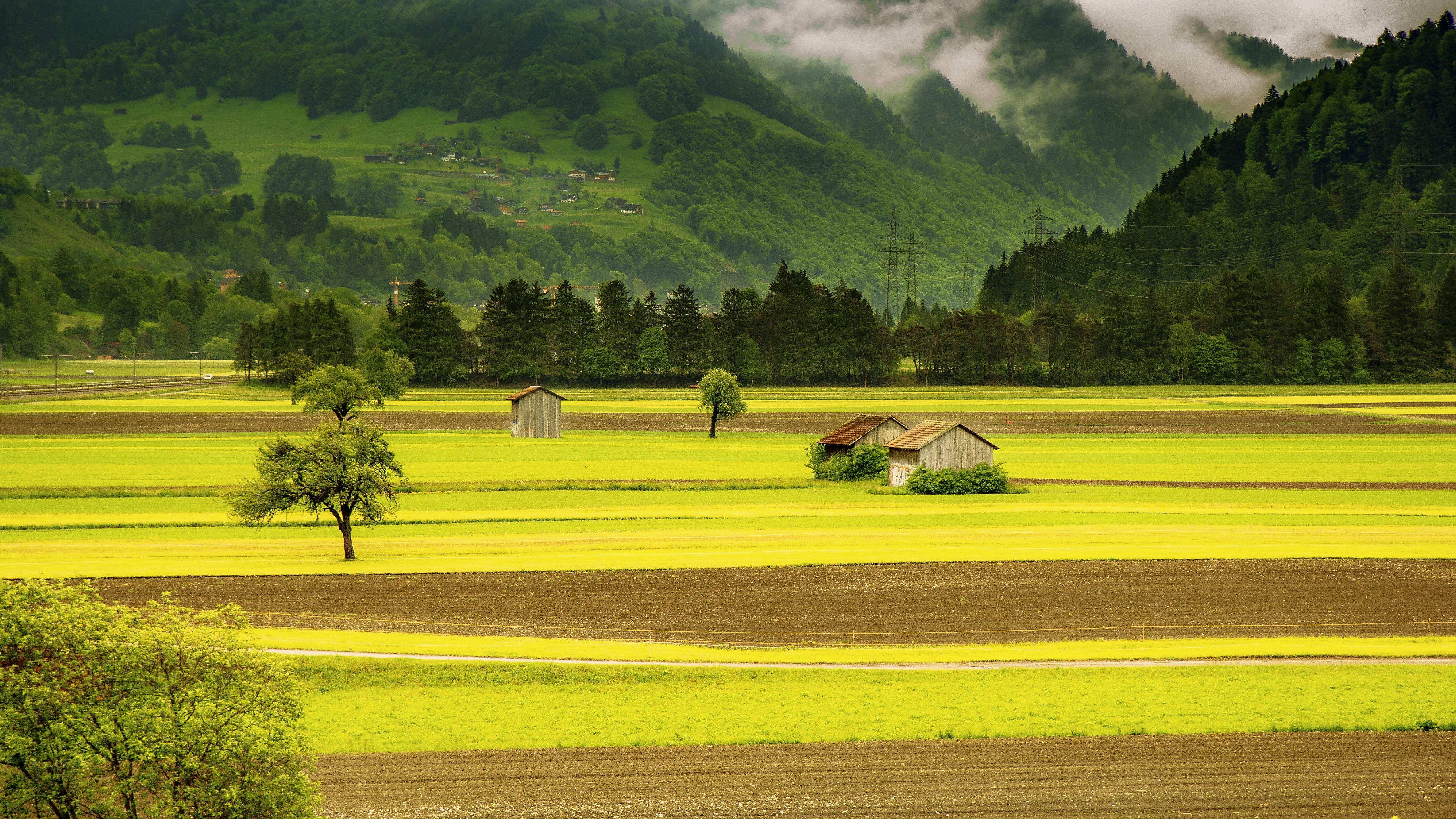 76 Gambar Pemandangan Gunung Sawah Dan Rumah Terbaik