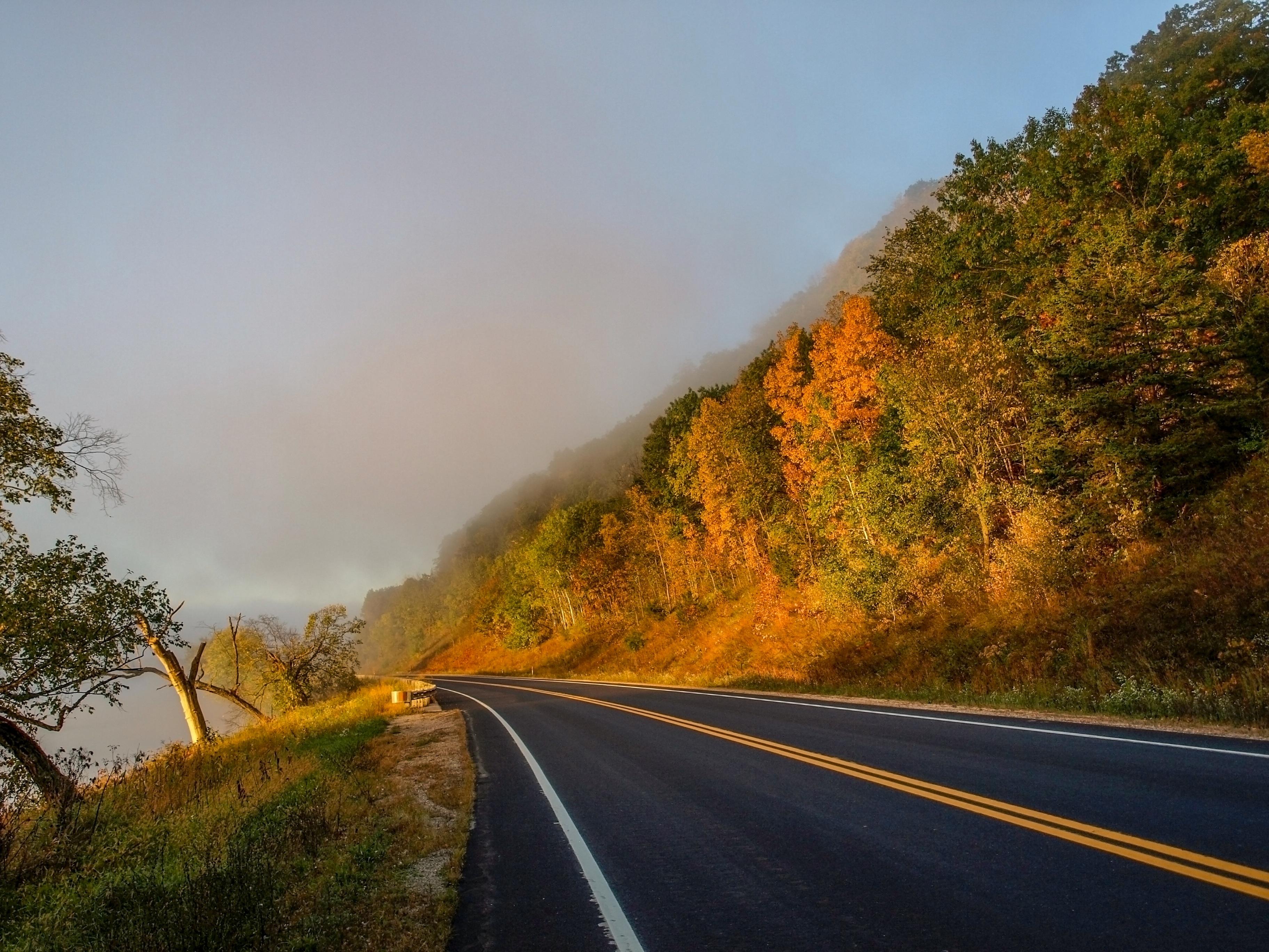предложит красивые картинки дорога пейзаж пишем