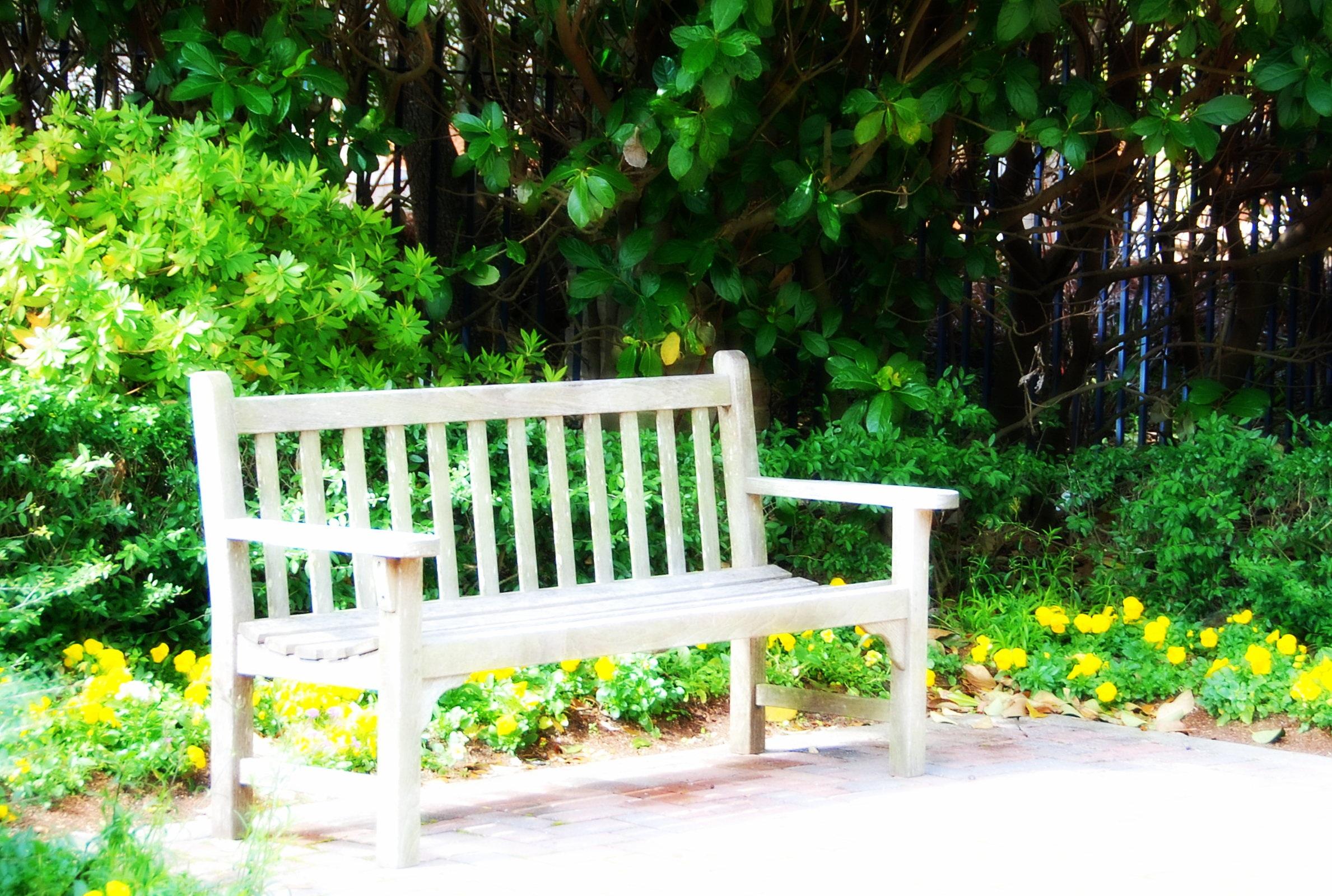 одного, картинки лавочки в саду есть, иконки тайле