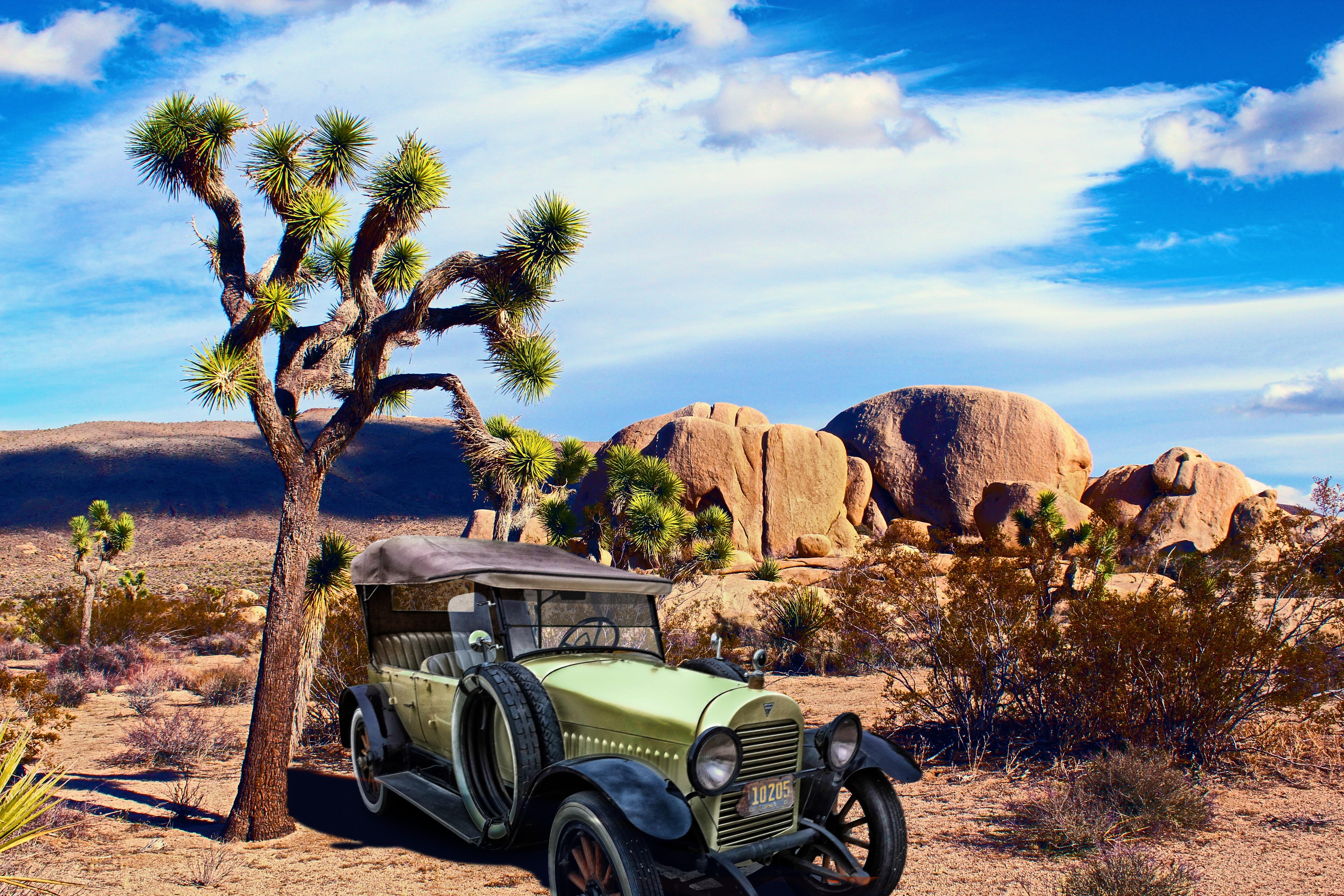 Free Images : landscape, sky, vintage, automobile, retro, desert ...