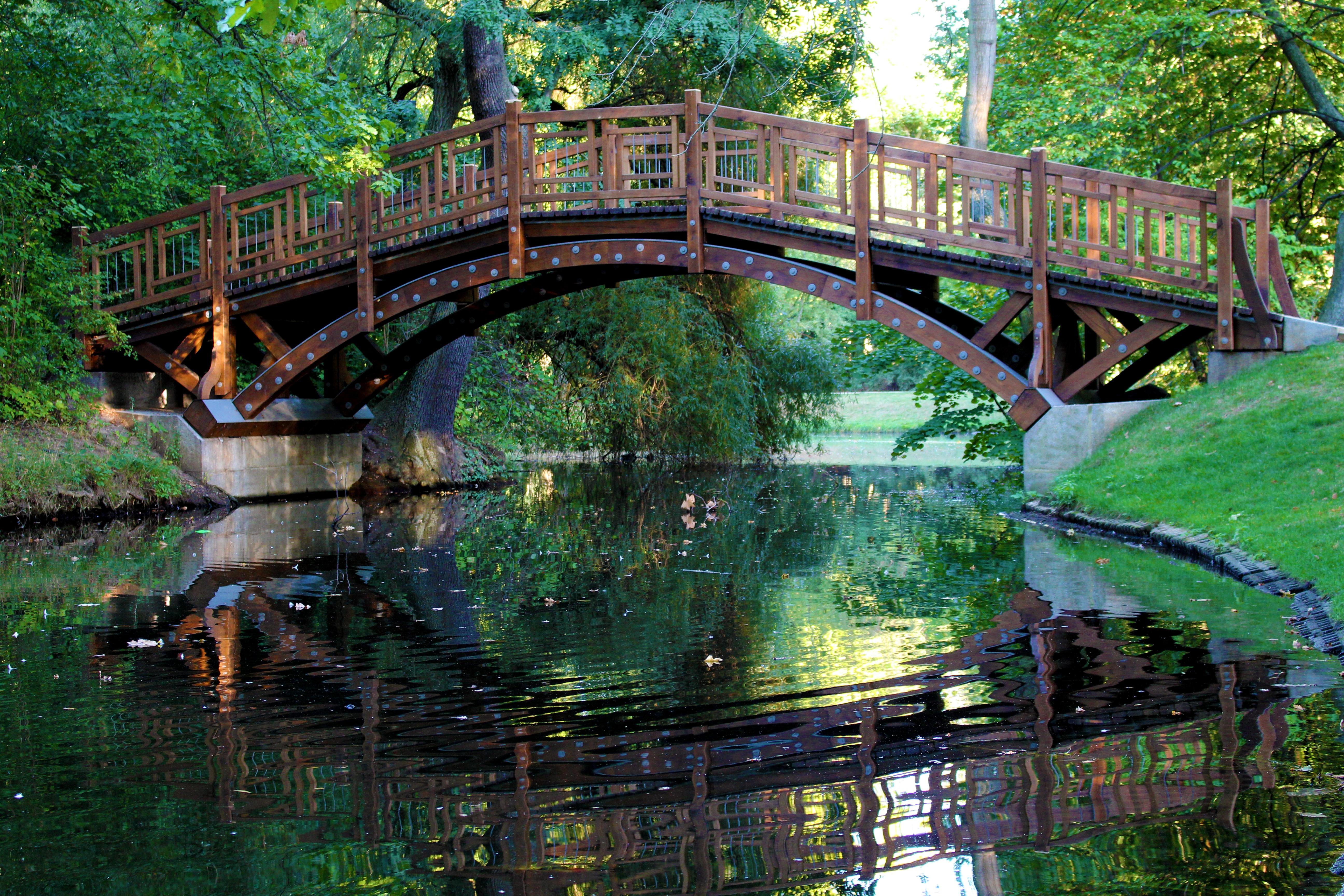 Картинки моста и речки