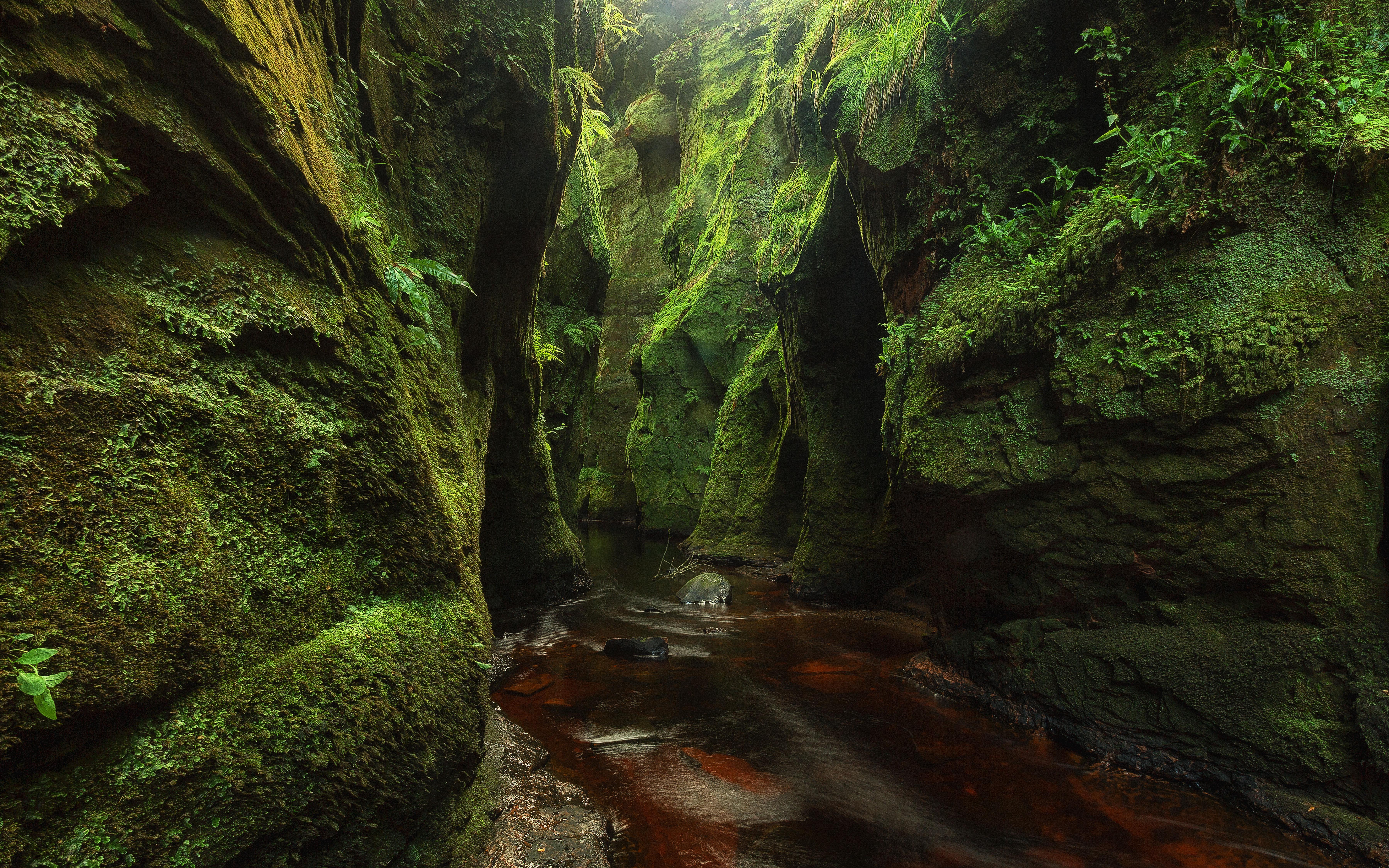 Free Images : landscape, tree, rock, waterfall, creek