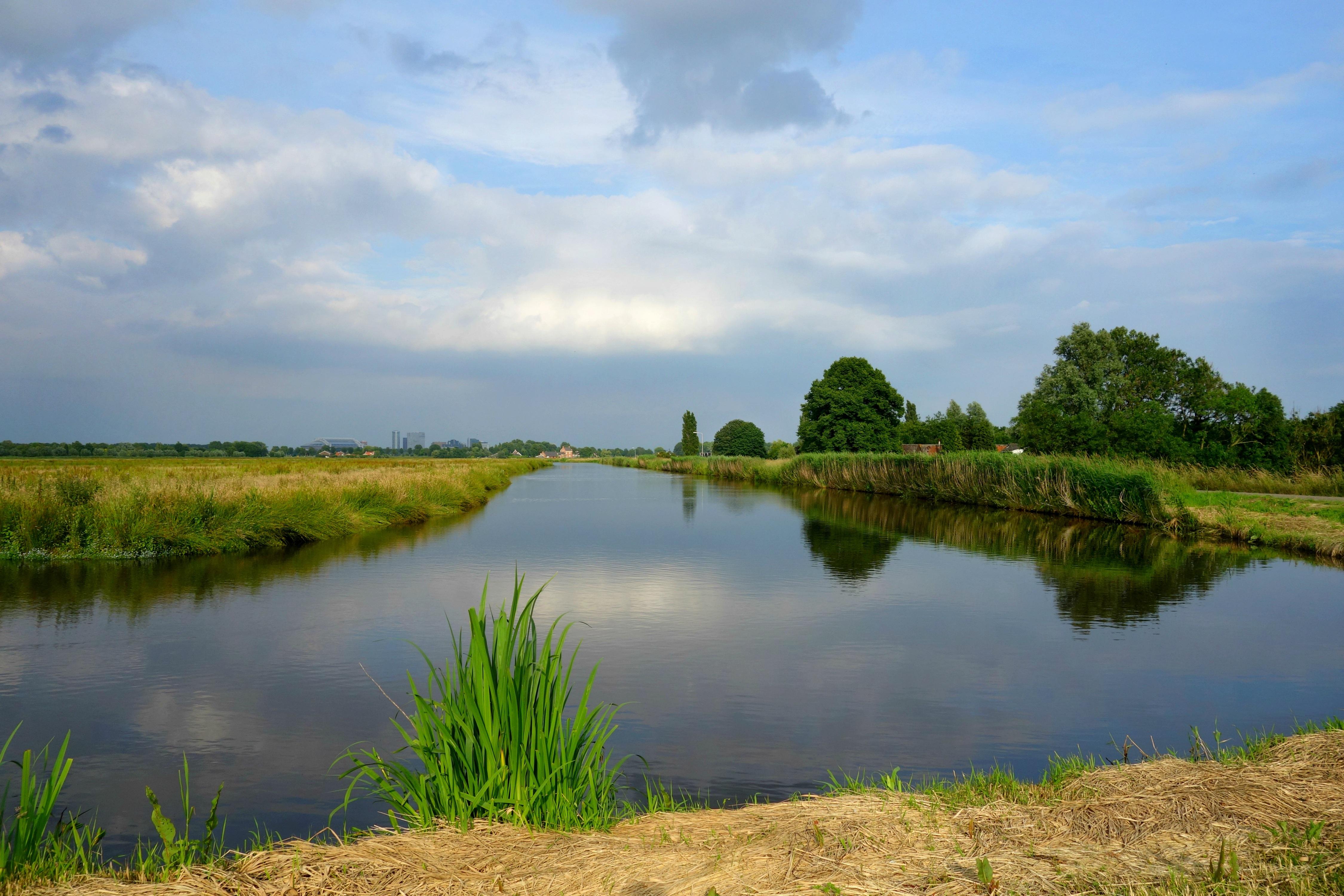 Деревенское озеро картинки