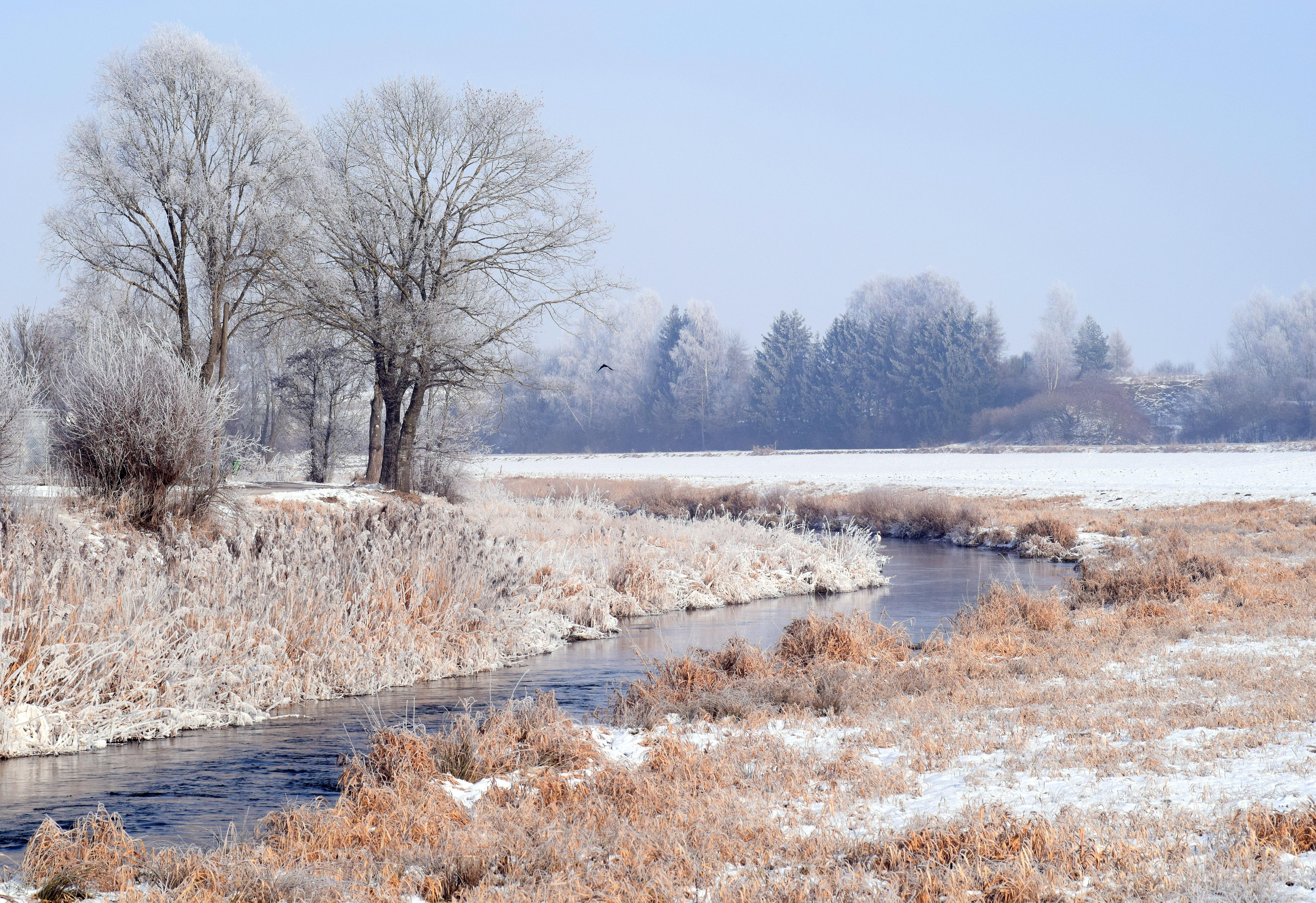 description of a cold winter morning